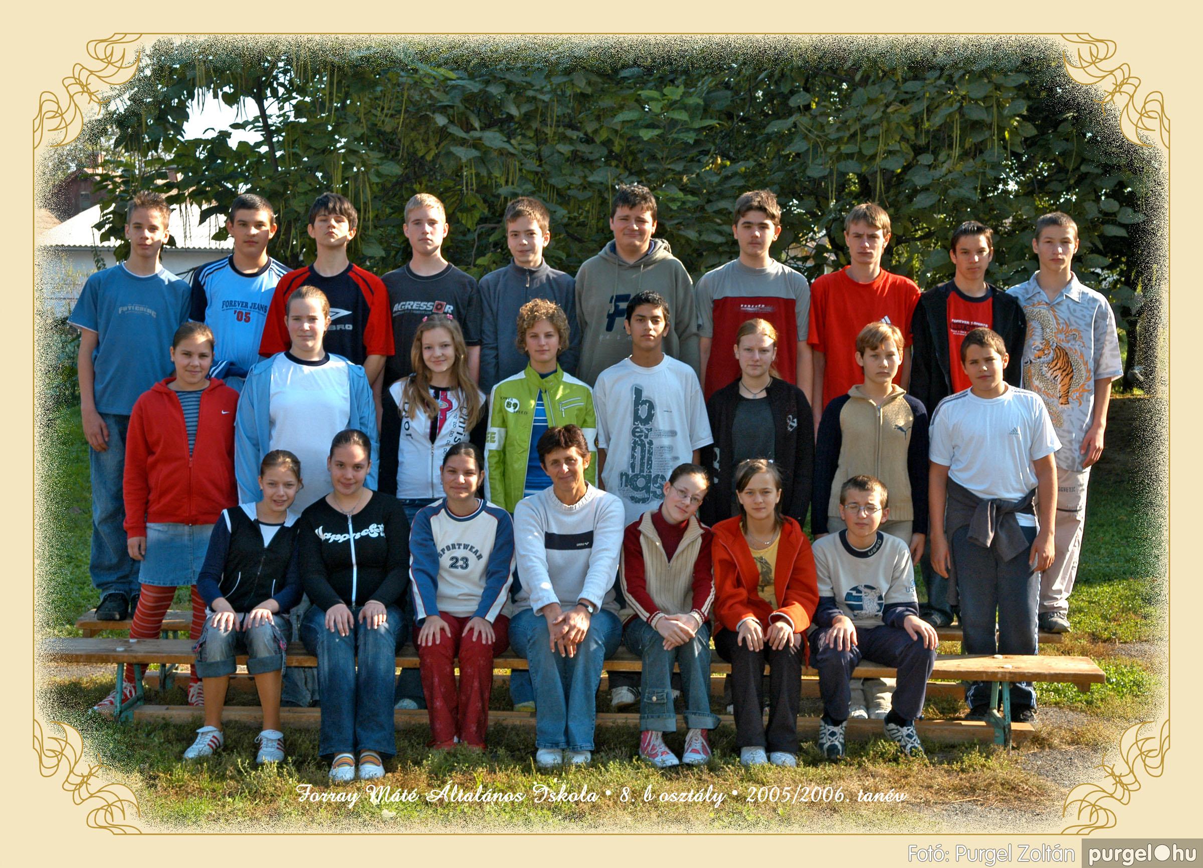 2005.09.21-10.06. 027 Forray Máté Általános Iskola osztályképek 2005. - Fotók:PURGEL ZOLTÁN© 8bkomoly.jpg