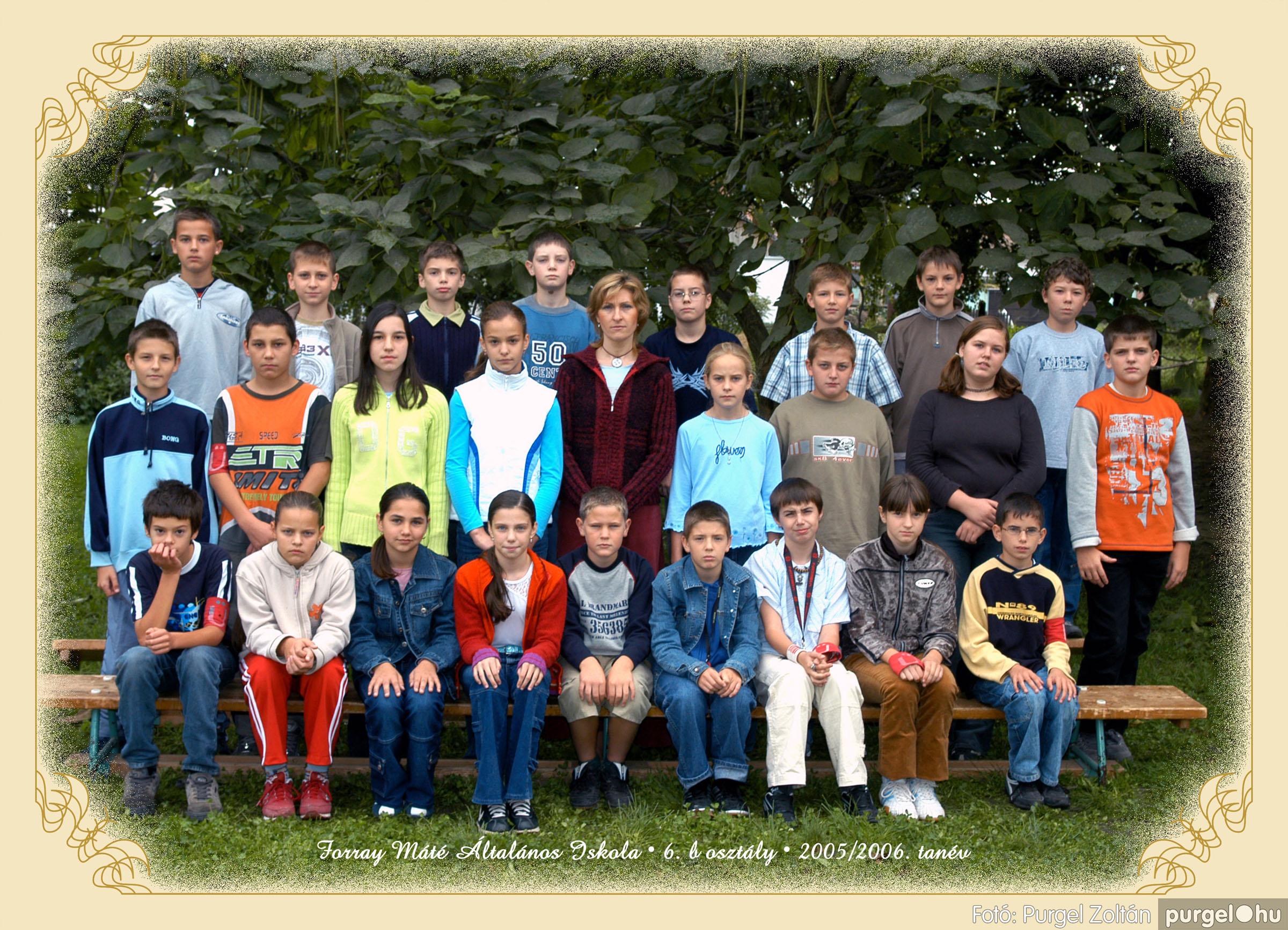 2005.09.21-10.06. 021 Forray Máté Általános Iskola osztályképek 2005. - Fotók:PURGEL ZOLTÁN© 6bkomoly.jpg