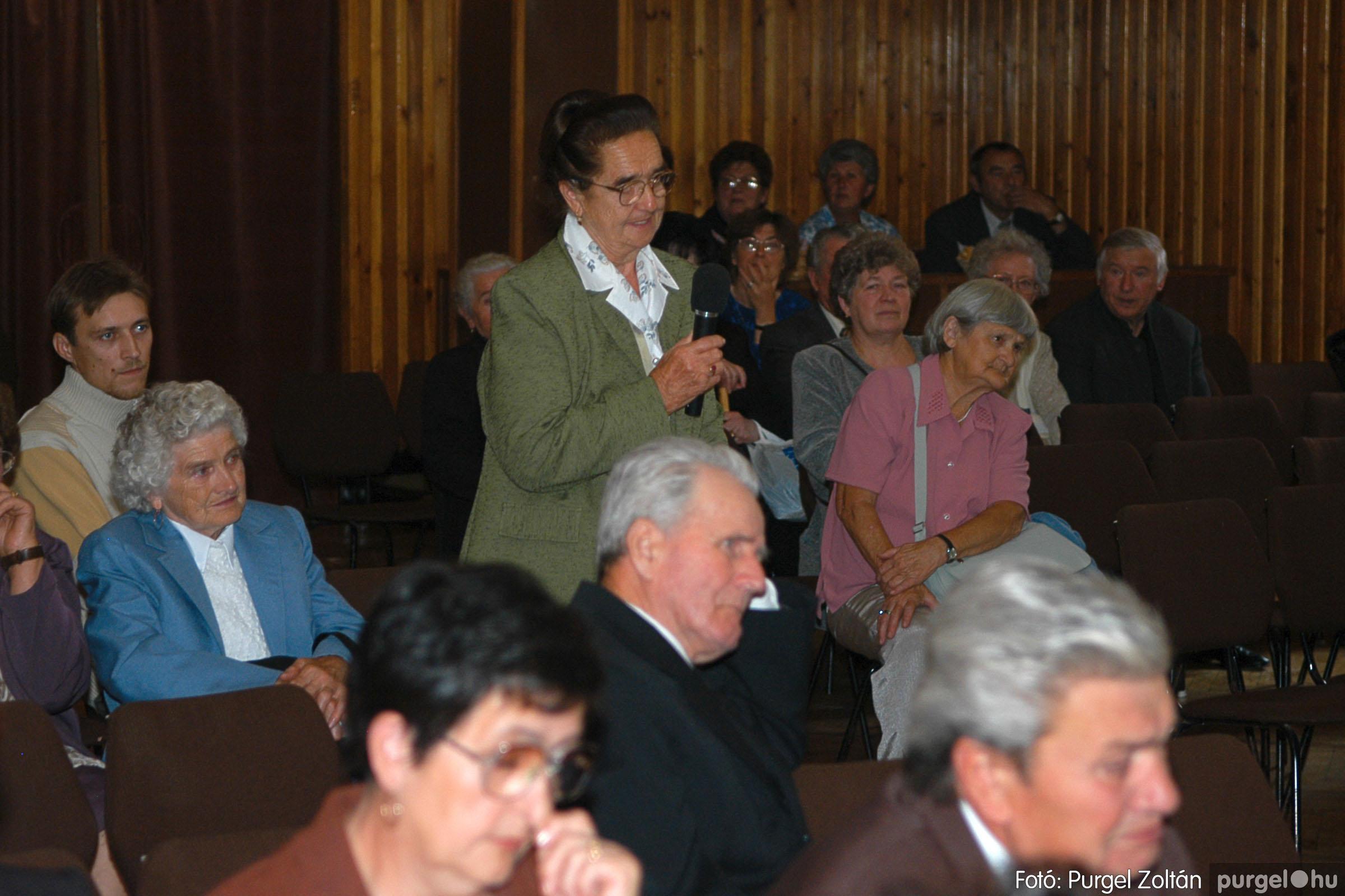 2005.09.25. 037 Elszármazottak találkozója 2005. - Fotó:PURGEL ZOLTÁN© DSC_0041q.jpg