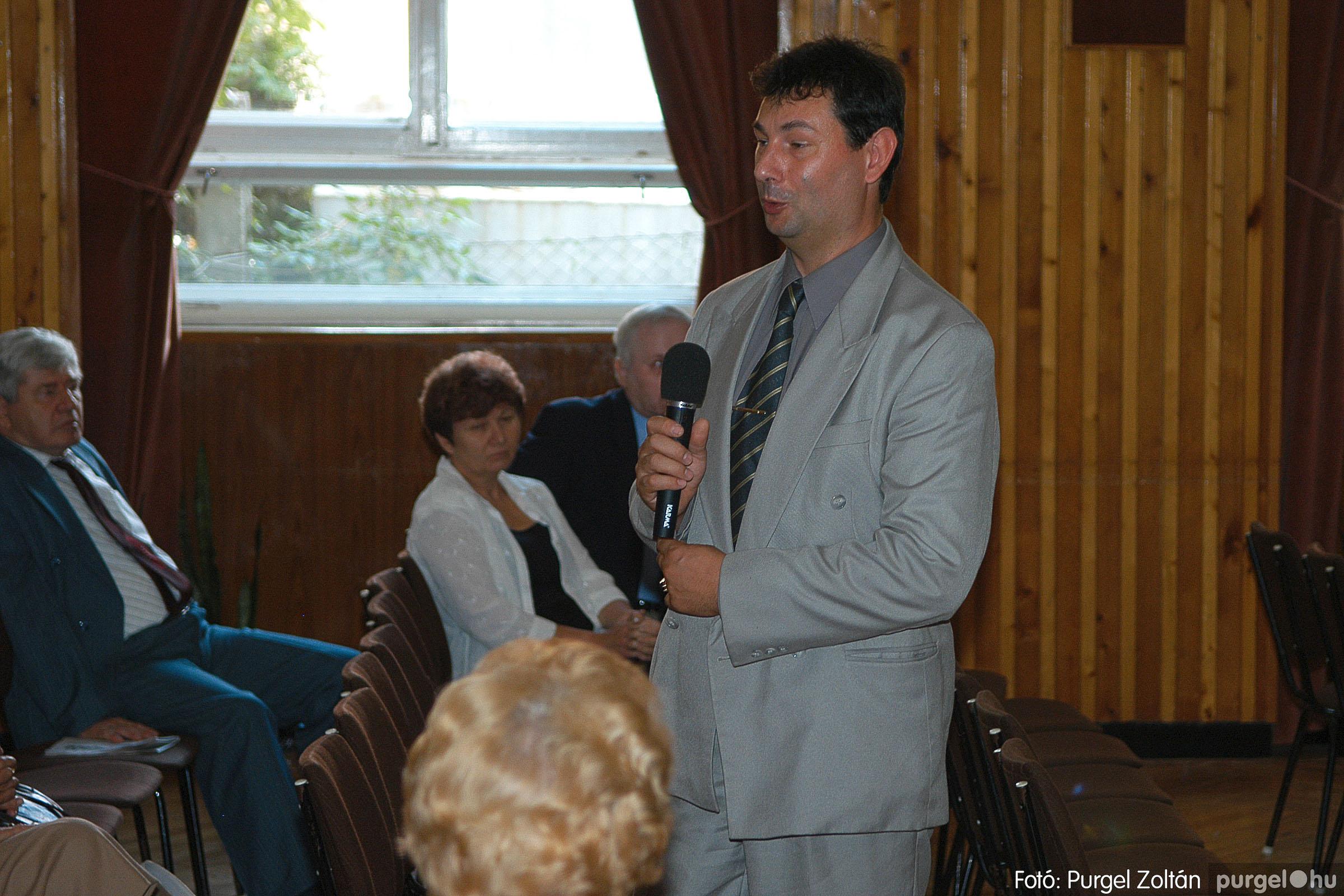 2005.09.25. 021 Elszármazottak találkozója 2005. - Fotó:PURGEL ZOLTÁN© DSC_0023q.jpg