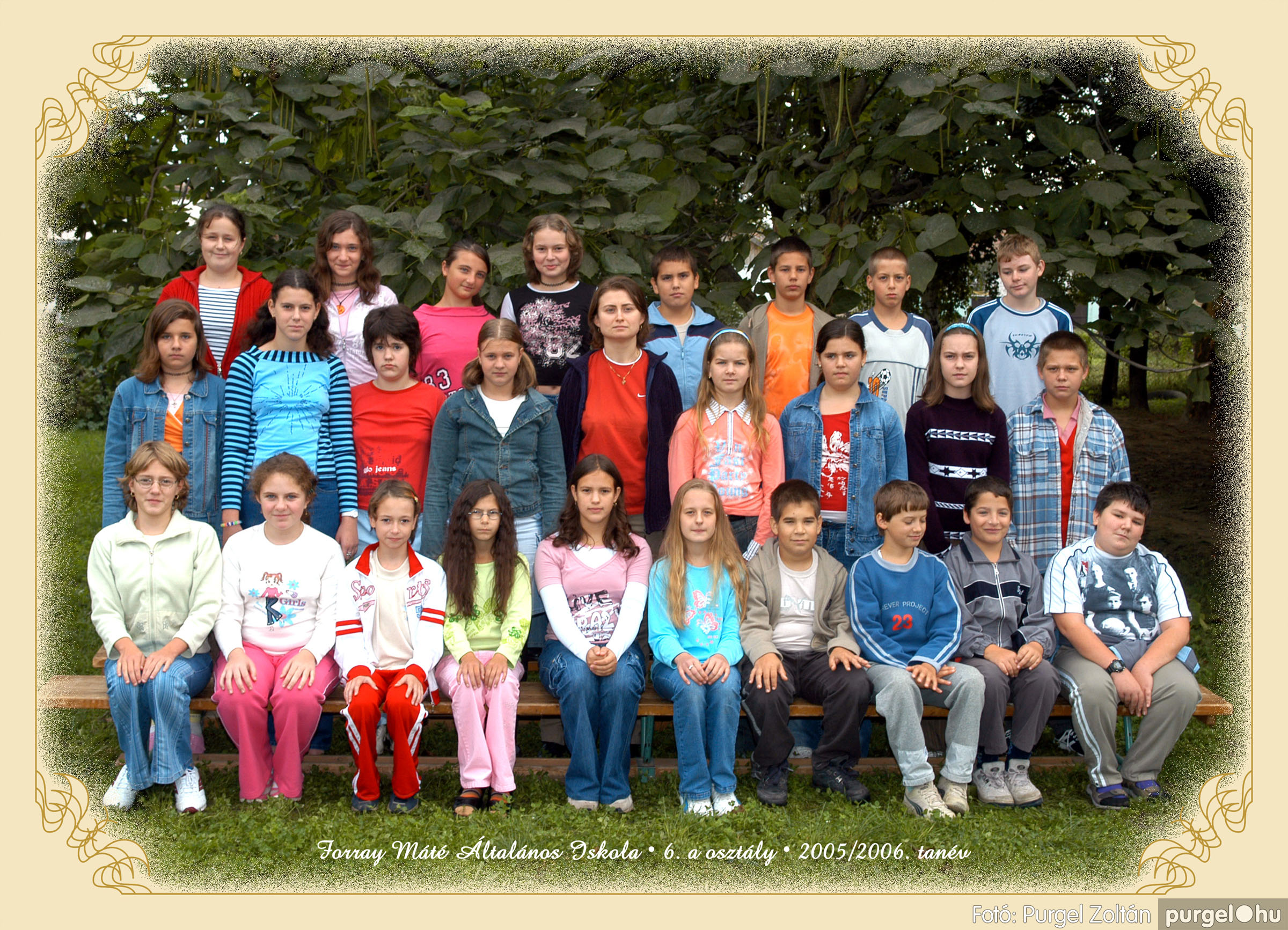 2005.09.21-10.06. 019 Forray Máté Általános Iskola osztályképek 2005. - Fotók:PURGEL ZOLTÁN© 6akomoly.jpg