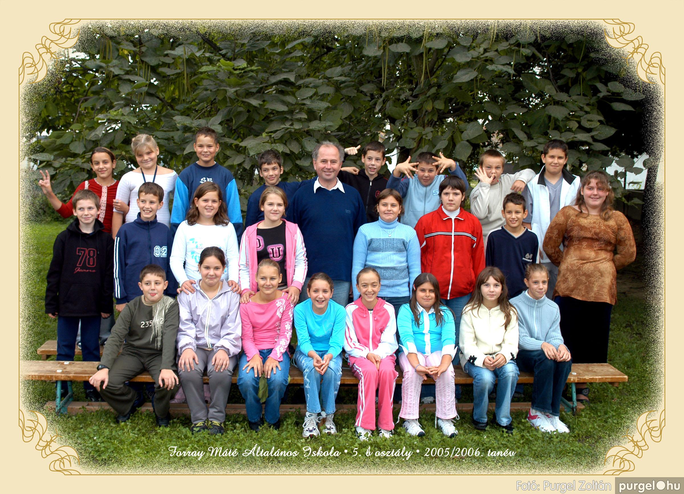 2005.09.21-10.06. 018 Forray Máté Általános Iskola osztályképek 2005. - Fotók:PURGEL ZOLTÁN© 5bvidam.jpg