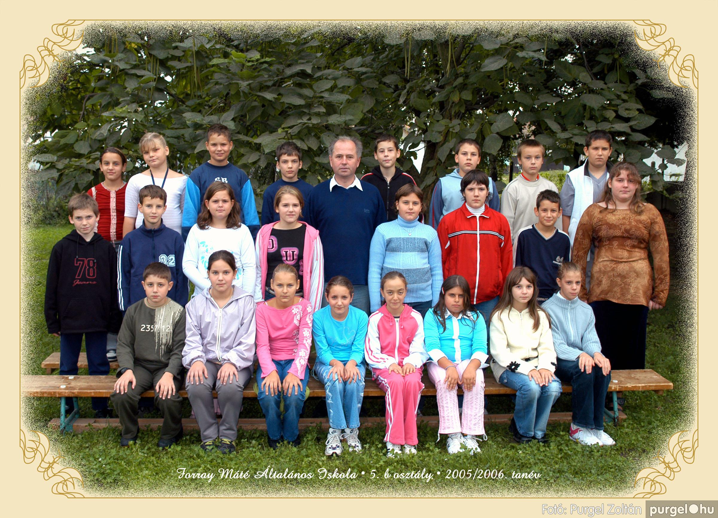 2005.09.21-10.06. 017 Forray Máté Általános Iskola osztályképek 2005. - Fotók:PURGEL ZOLTÁN© 5bkomoly.jpg