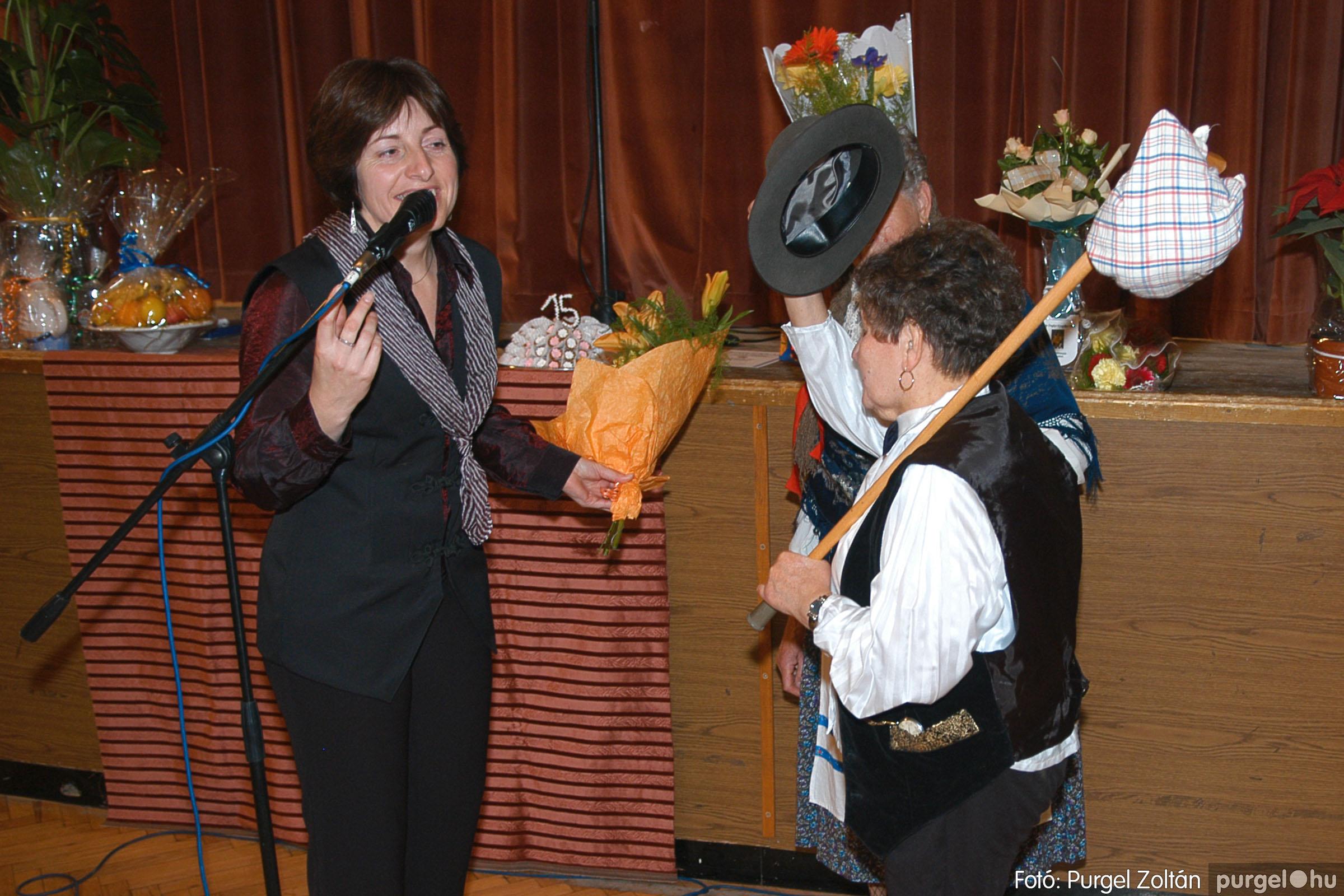 2005.11.12. 099 15 éves a Szép Öregkor Nyugdíjas Klub - Fotó:PURGEL ZOLTÁN© DSC_0474q.jpg