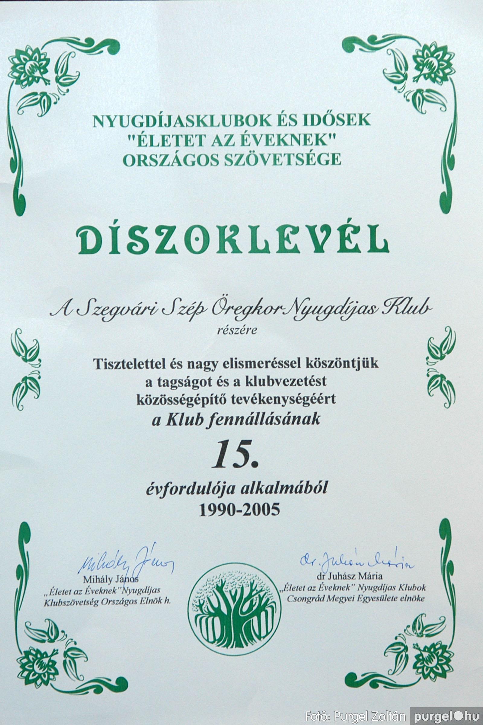 2005.11.12. 050 15 éves a Szép Öregkor Nyugdíjas Klub - Fotó:PURGEL ZOLTÁN© DSC_0415q.jpg