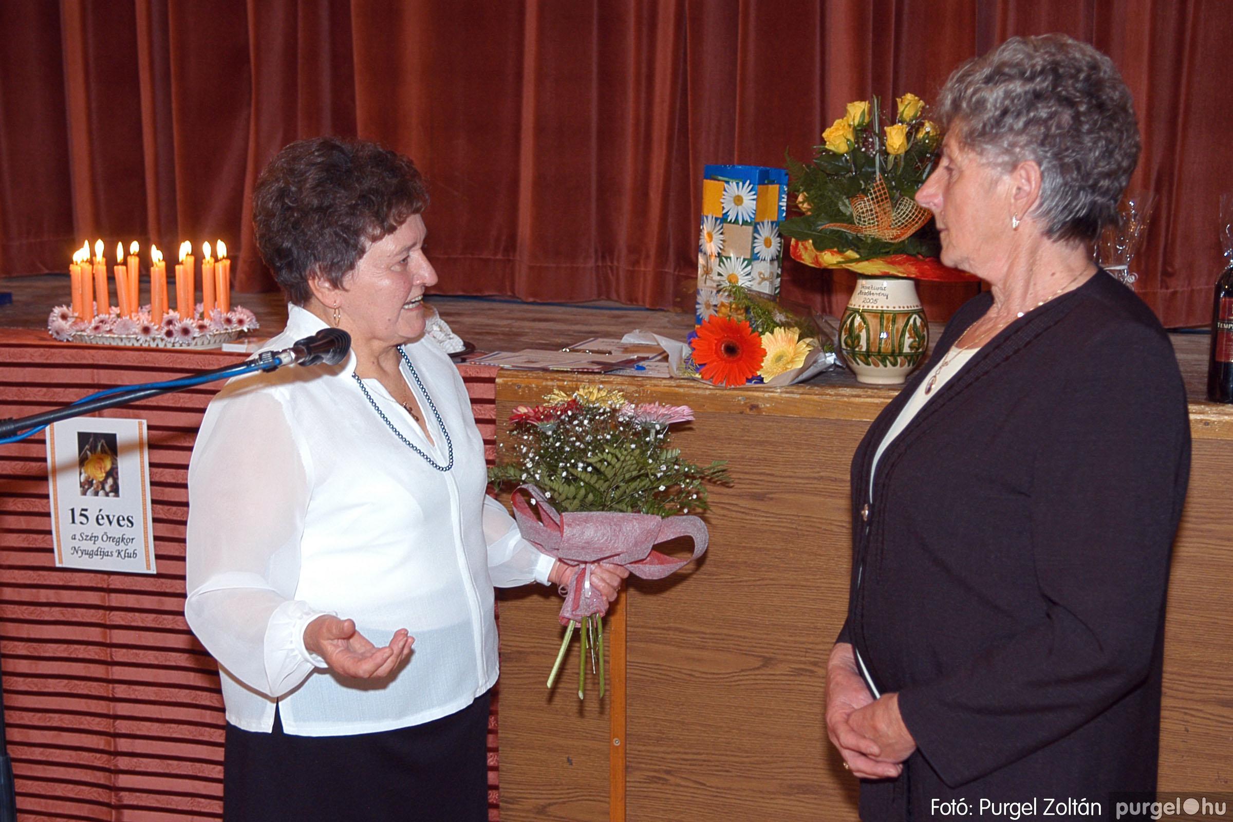 2005.11.12. 017 15 éves a Szép Öregkor Nyugdíjas Klub - Fotó:PURGEL ZOLTÁN© DSC_0375q.jpg
