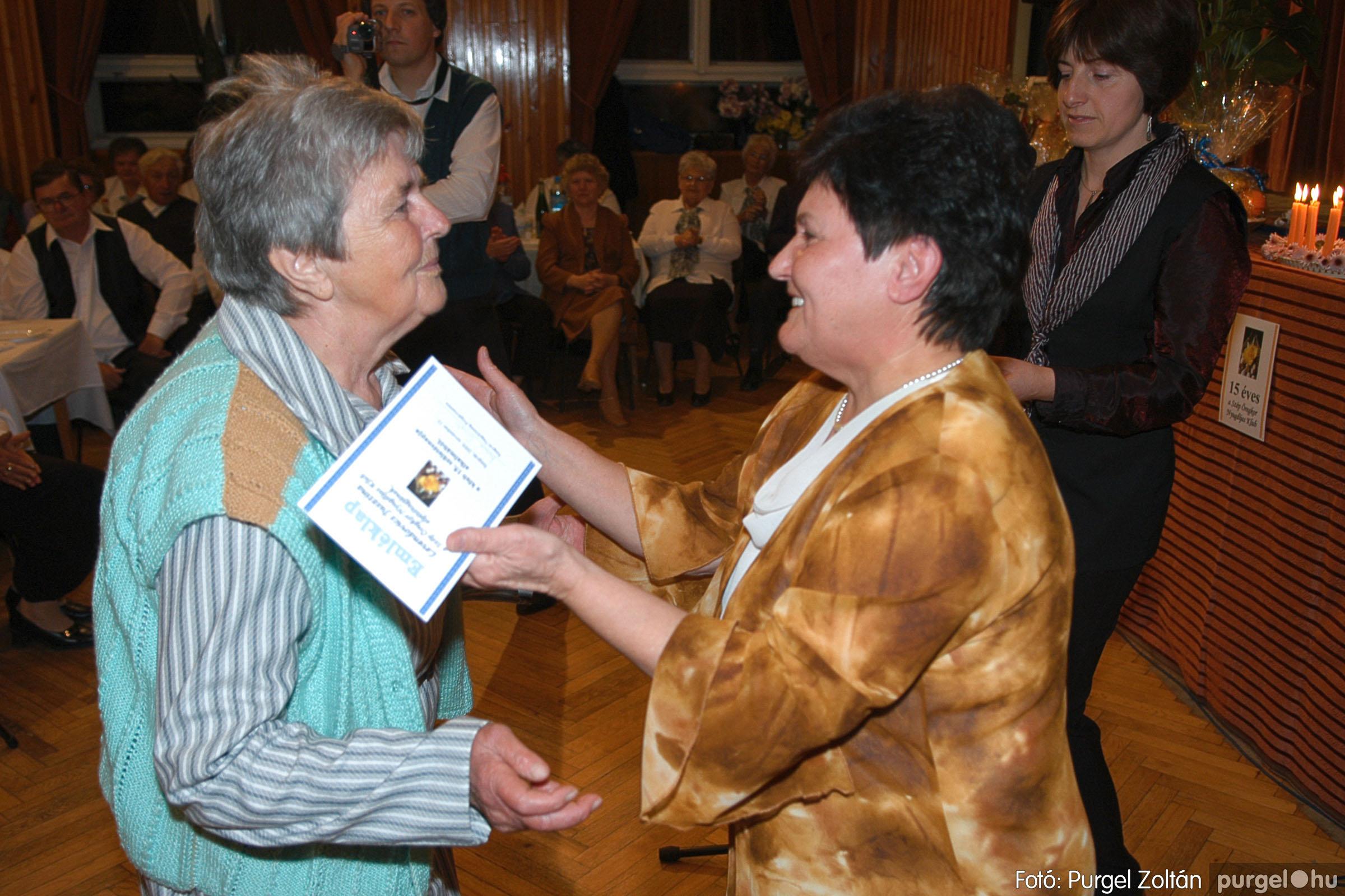 2005.11.12. 011 15 éves a Szép Öregkor Nyugdíjas Klub - Fotó:PURGEL ZOLTÁN© DSC_0369q.jpg