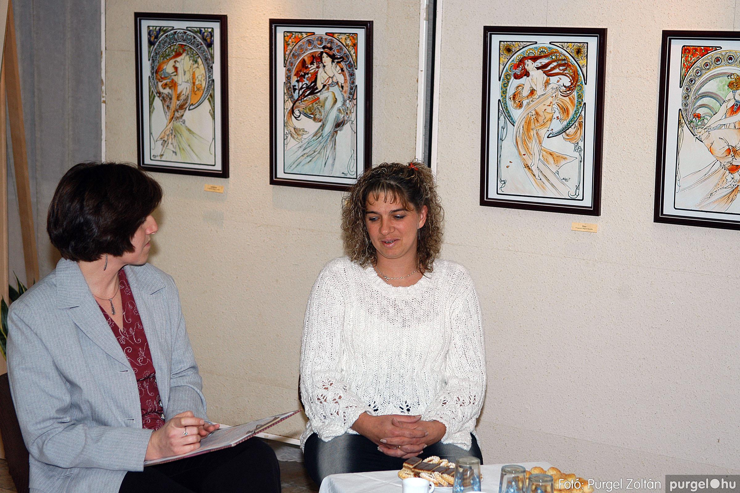 2005.11.28. 002 Prágainé Mágori Aranka kiállítása - Fotó:PURGEL ZOLTÁN© DSC_0002q.jpg