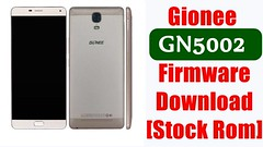 [Flash File] Gionee GN5002 Firmware Download [Stock Rom]