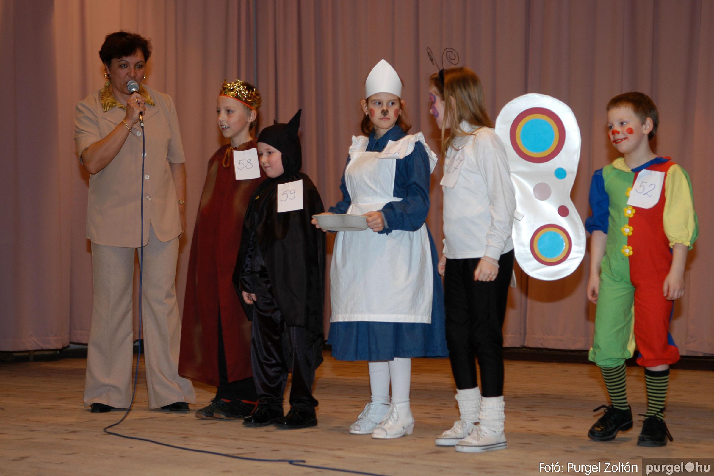 2006.02.18. 057 Forray Máté Általános Iskola farsang 2006. - alsó tagozatosok - Fotó:PURGEL ZOLTÁN© DSC_0077q.jpg