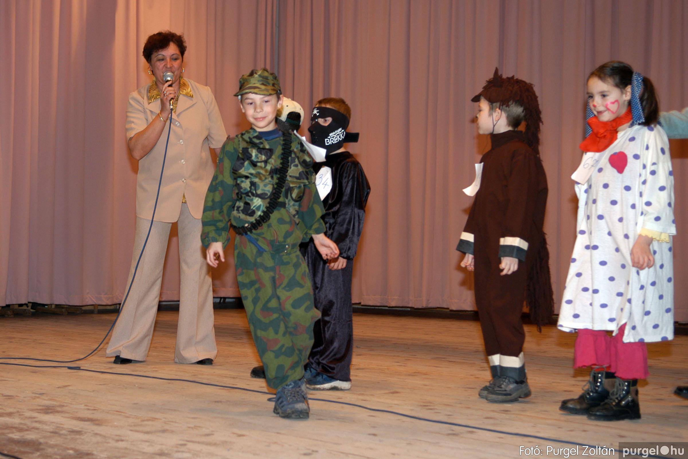 2006.02.18. 048 Forray Máté Általános Iskola farsang 2006. - alsó tagozatosok - Fotó:PURGEL ZOLTÁN© DSC_0066q.jpg