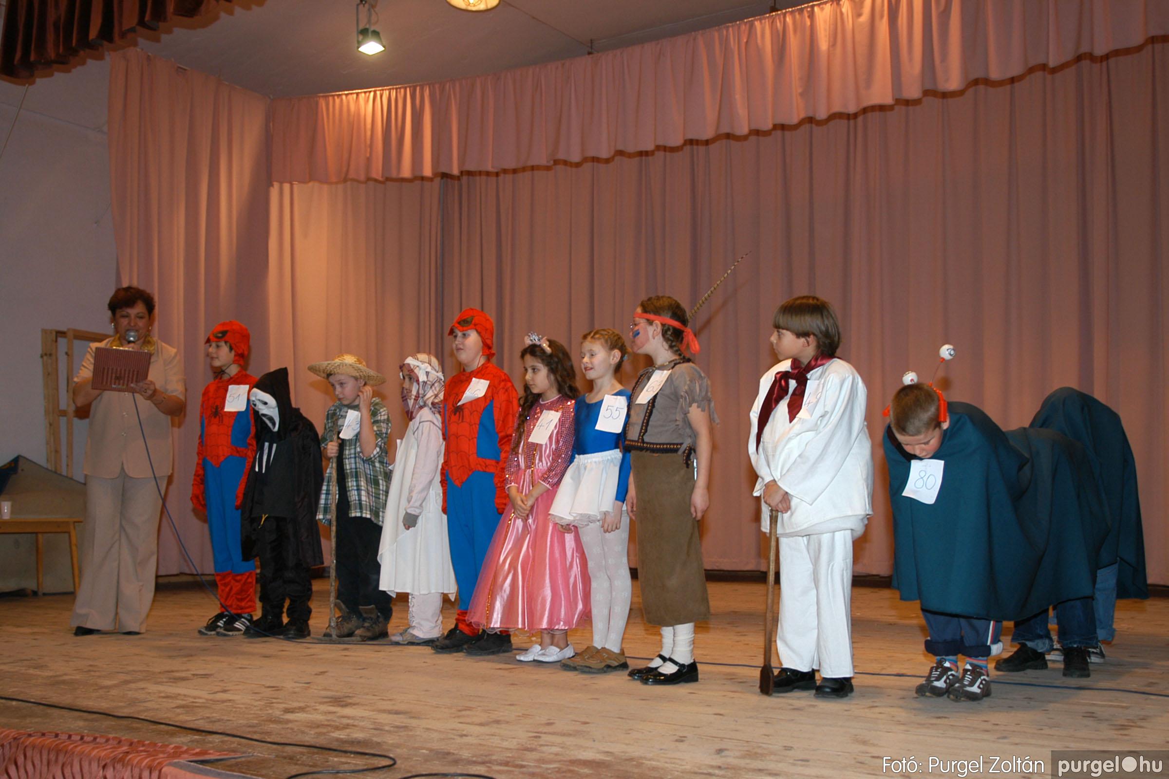 2006.02.18. 086 Forray Máté Általános Iskola farsang 2006. - alsó tagozatosok - Fotó:PURGEL ZOLTÁN© DSC_0109q.jpg