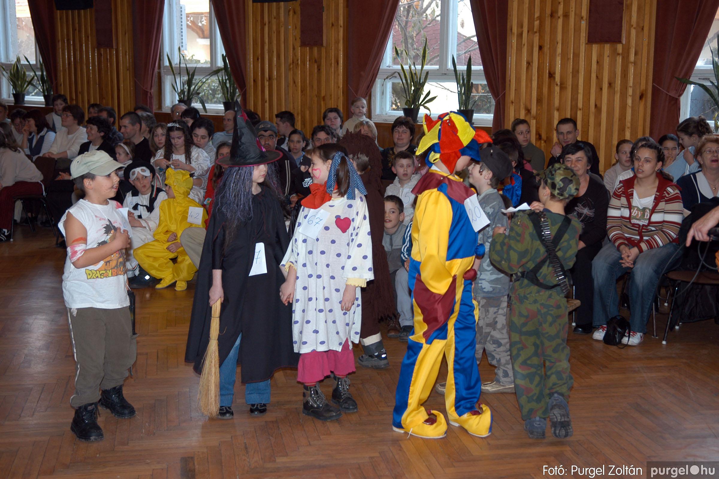 2006.02.18. 049 Forray Máté Általános Iskola farsang 2006. - alsó tagozatosok - Fotó:PURGEL ZOLTÁN© DSC_0067q.jpg