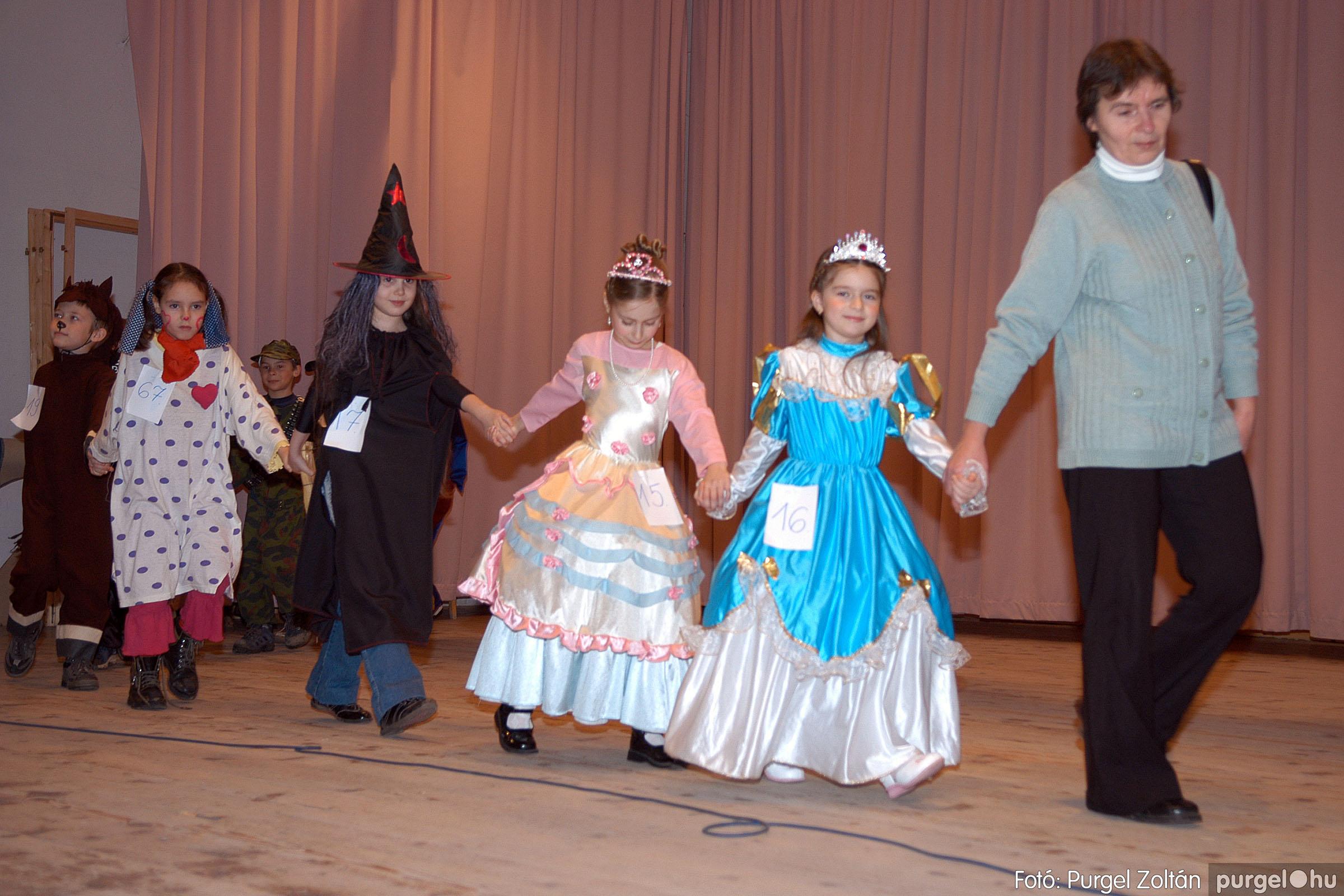 2006.02.18. 045 Forray Máté Általános Iskola farsang 2006. - alsó tagozatosok - Fotó:PURGEL ZOLTÁN© DSC_0063q.jpg