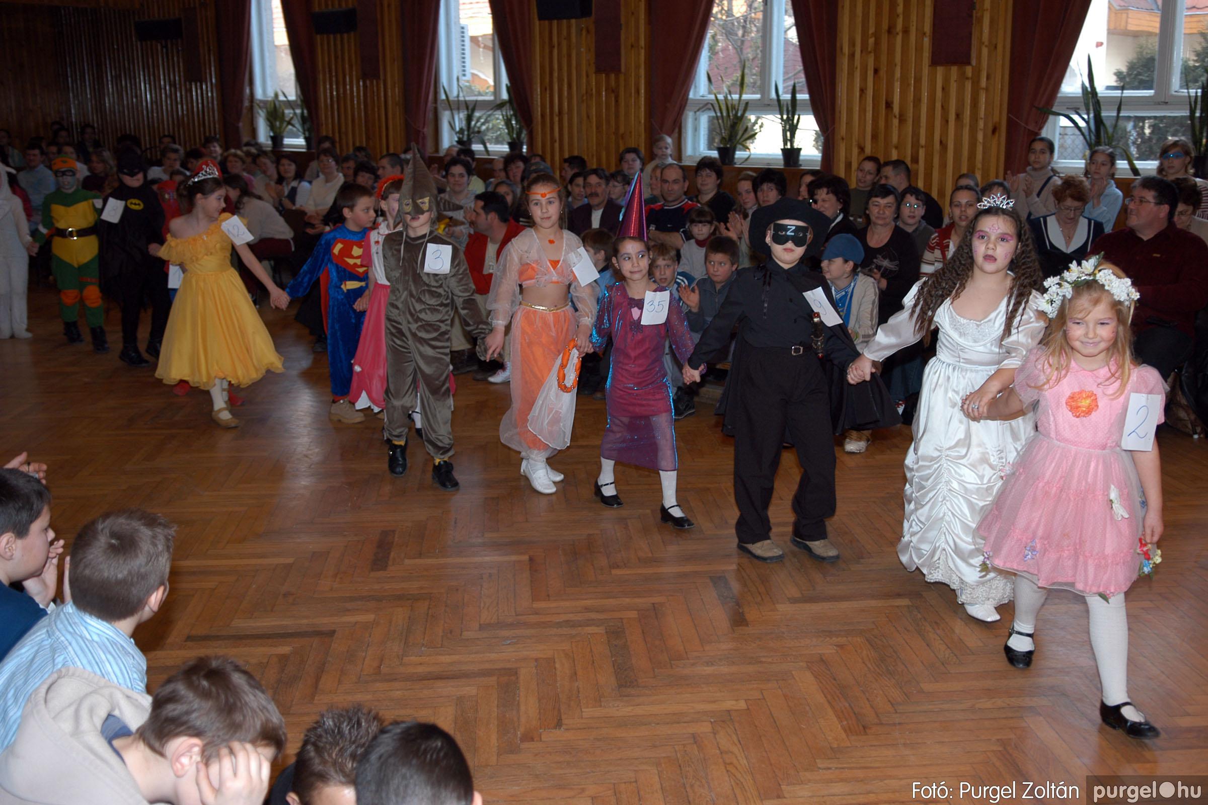 2006.02.18. 044 Forray Máté Általános Iskola farsang 2006. - alsó tagozatosok - Fotó:PURGEL ZOLTÁN© DSC_0062q.jpg