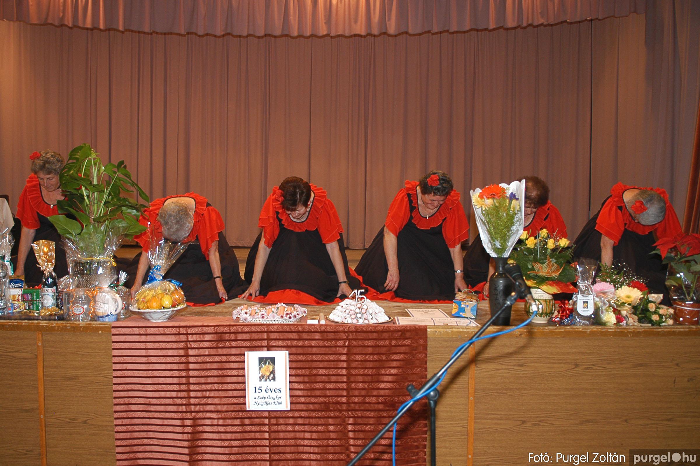 2005.11.12. 073 15 éves a Szép Öregkor Nyugdíjas Klub - Fotó:PURGEL ZOLTÁN© DSC_0441q.jpg