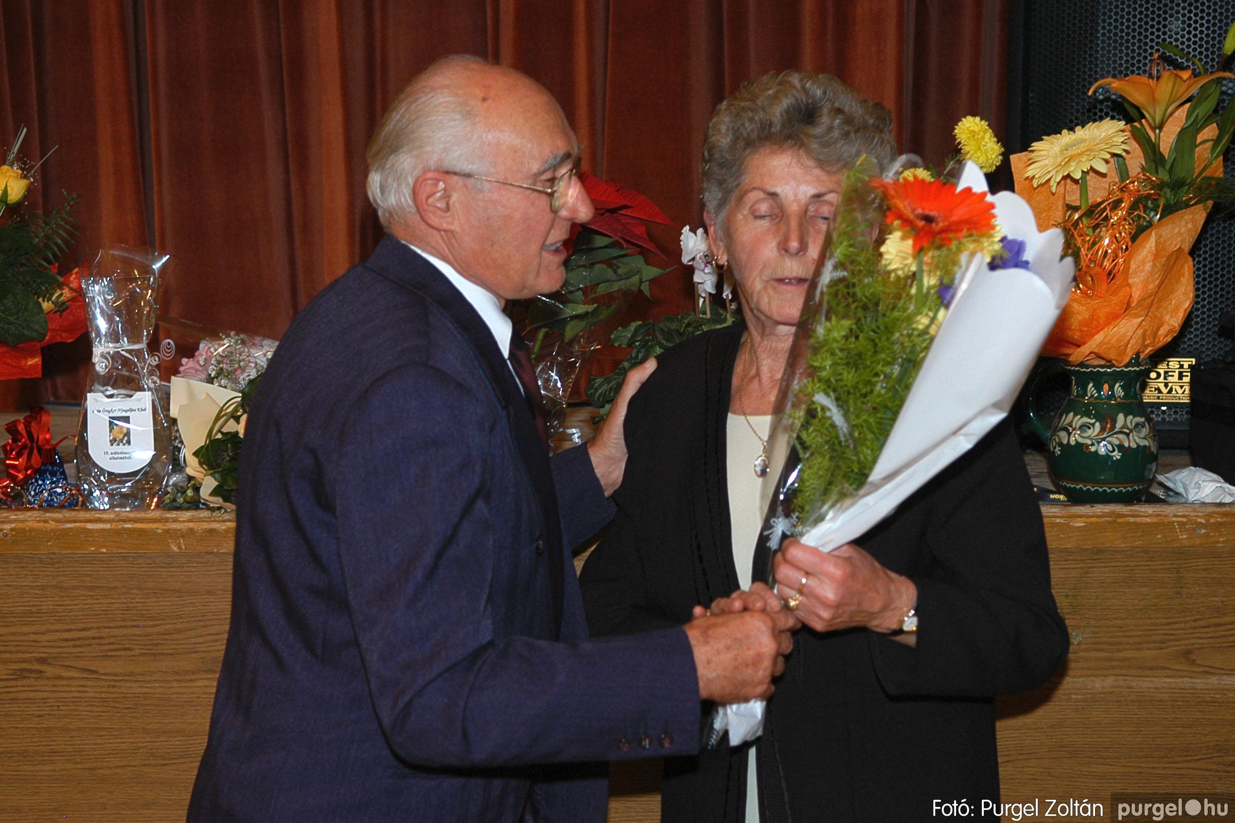2005.11.12. 043 15 éves a Szép Öregkor Nyugdíjas Klub - Fotó:PURGEL ZOLTÁN© DSC_0407q.jpg