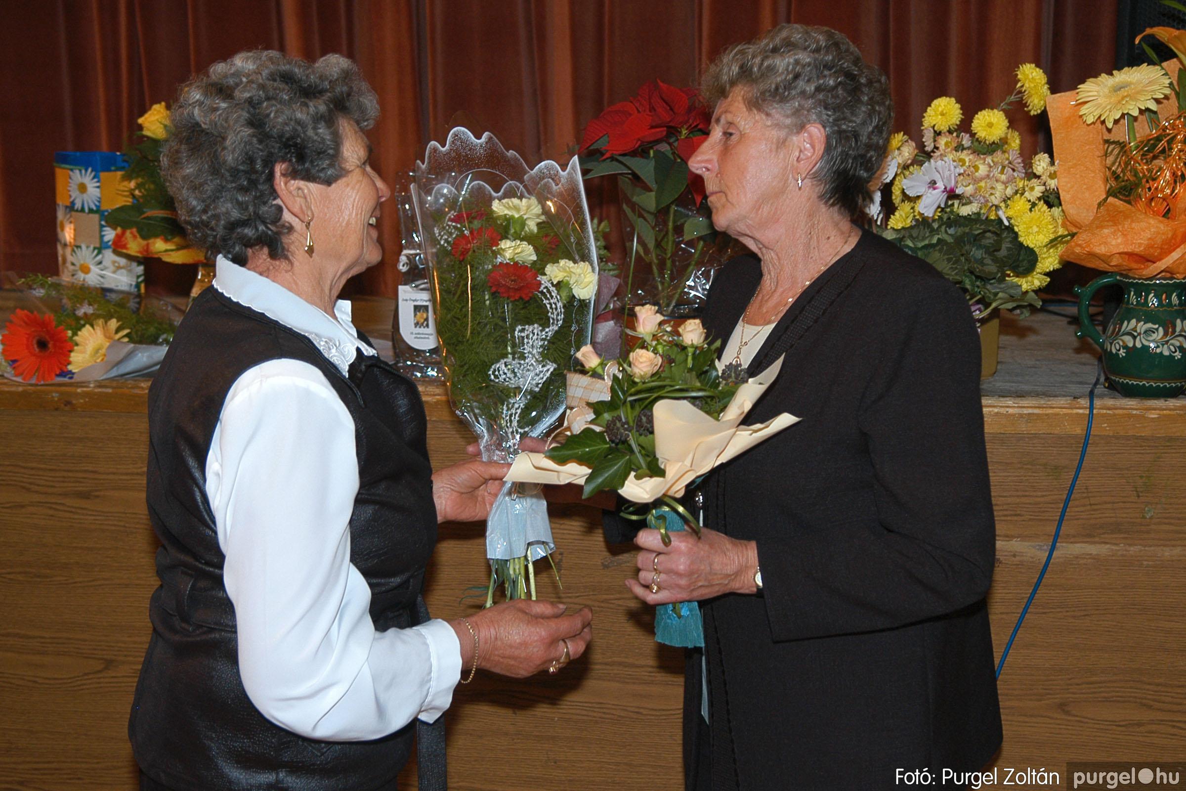 2005.11.12. 021 15 éves a Szép Öregkor Nyugdíjas Klub - Fotó:PURGEL ZOLTÁN© DSC_0383q.jpg