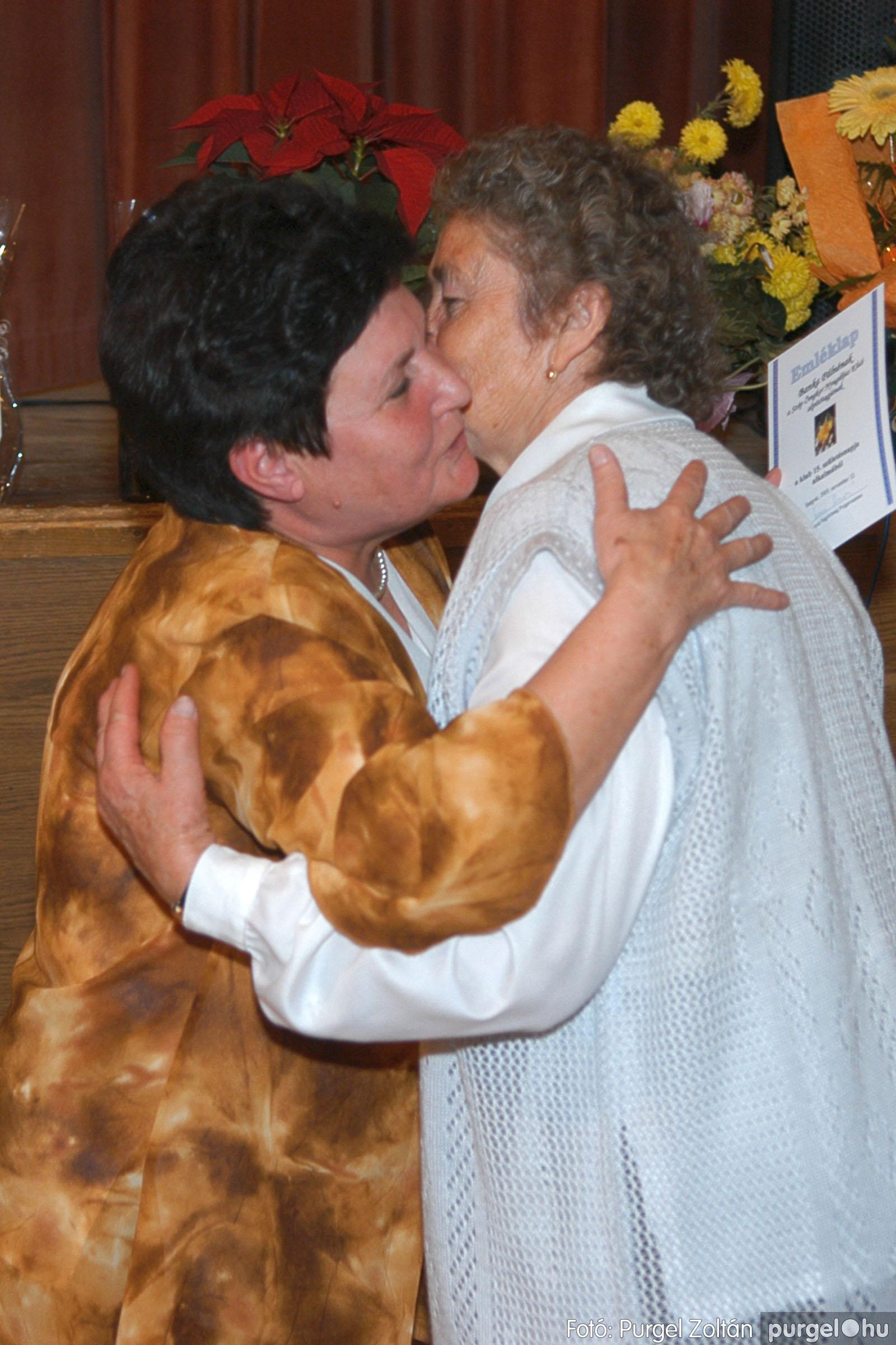 2005.11.12. 009 15 éves a Szép Öregkor Nyugdíjas Klub - Fotó:PURGEL ZOLTÁN© DSC_0364q.jpg