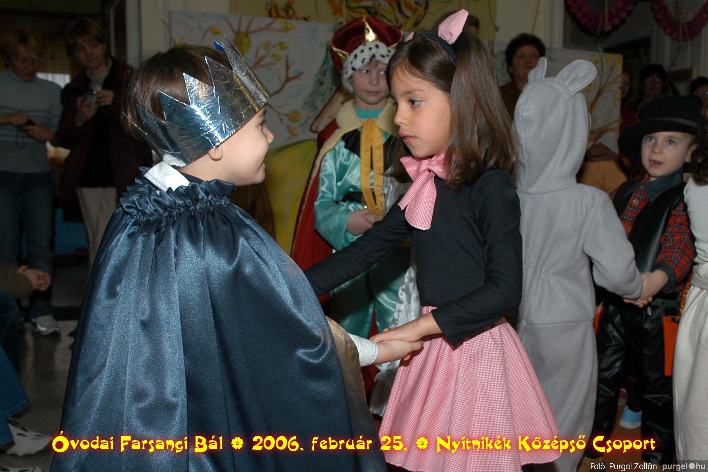 2006.02.25. 197 Kurca-parti Óvoda farsang 2006. - Nyitnikék csoport - Fotó:PURGEL ZOLTÁN©.jpg