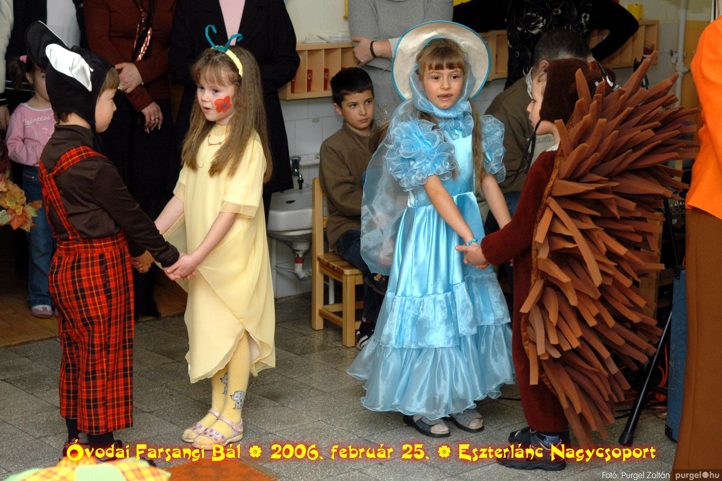 2006.02.25. 111 Kurca-parti Óvoda farsang 2006. - Eszterlánc csoport - Fotó:PURGEL ZOLTÁN©.jpg