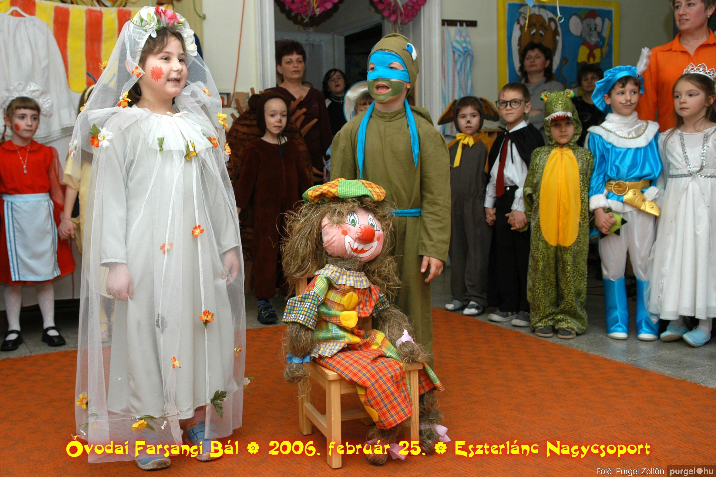 2006.02.25. 097 Kurca-parti Óvoda farsang 2006. - Eszterlánc csoport - Fotó:PURGEL ZOLTÁN©.jpg