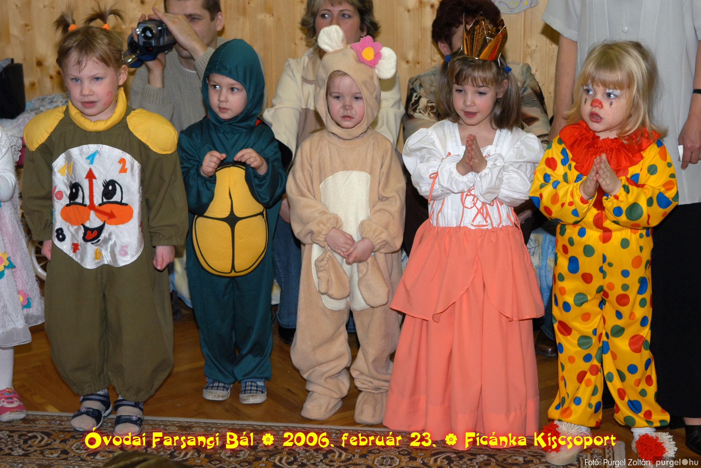 2006.02.23. 091 Kurca-parti Óvoda farsang 2006. - Ficánka csoport - Fotó:PURGEL ZOLTÁN© .jpg