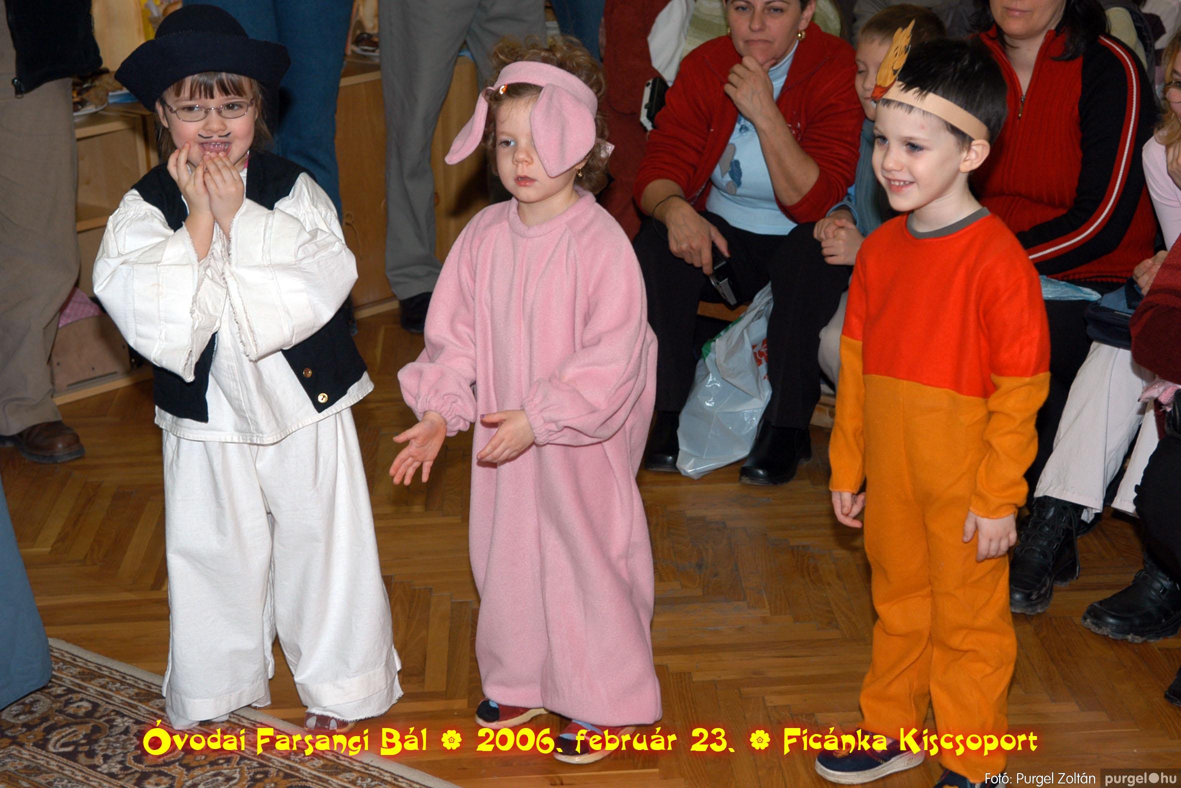 2006.02.23. 079 Kurca-parti Óvoda farsang 2006. - Ficánka csoport - Fotó:PURGEL ZOLTÁN© .jpg