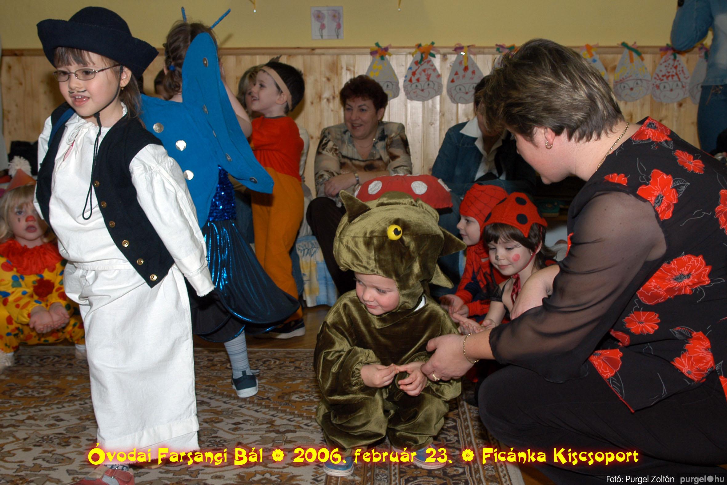 2006.02.23. 071 Kurca-parti Óvoda farsang 2006. - Ficánka csoport - Fotó:PURGEL ZOLTÁN© .jpg