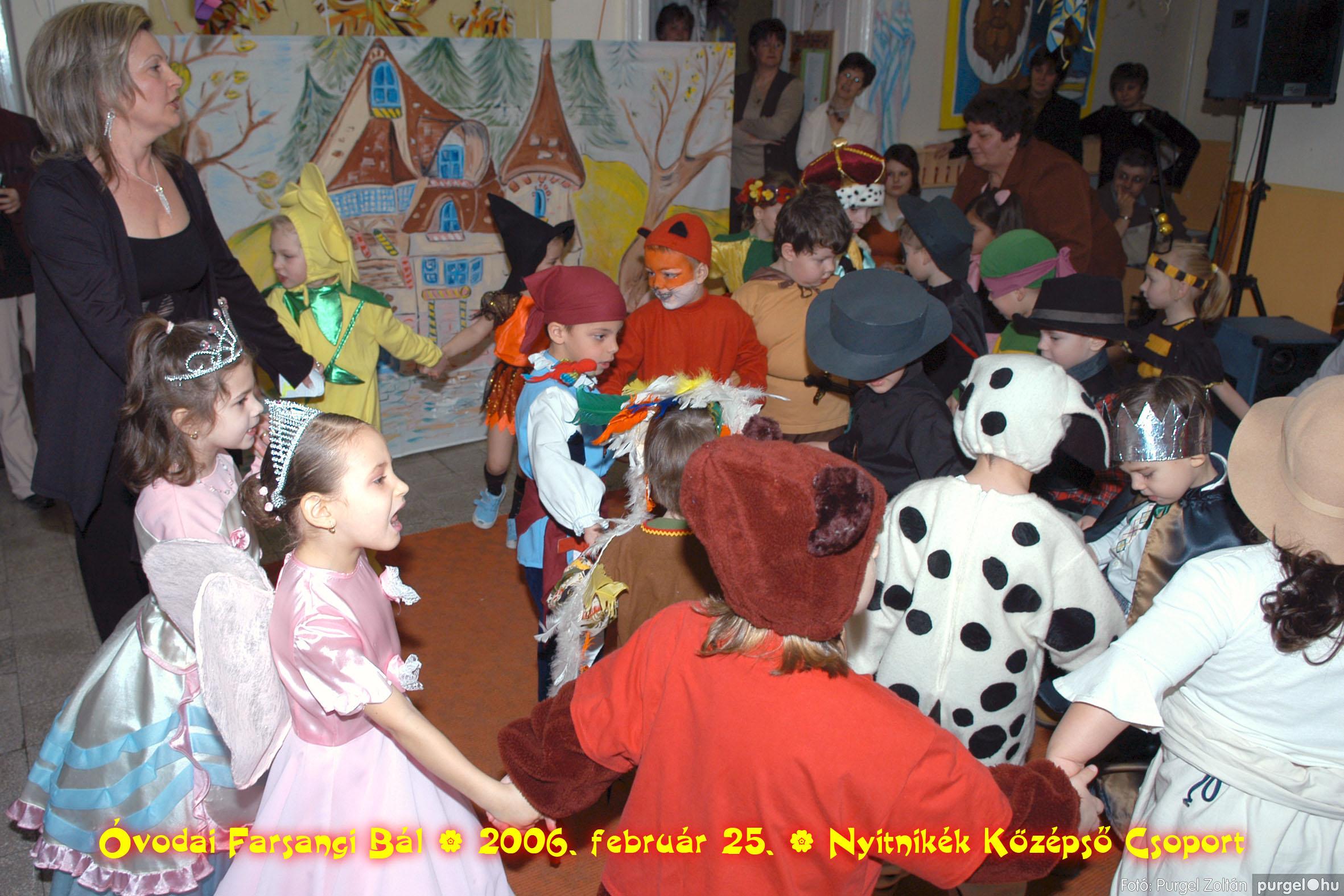 2006.02.25. 187 Kurca-parti Óvoda farsang 2006. - Nyitnikék csoport - Fotó:PURGEL ZOLTÁN©.jpg