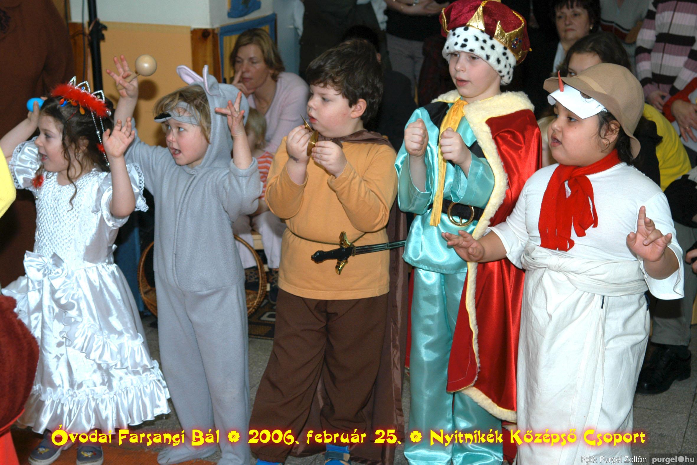 2006.02.25. 183 Kurca-parti Óvoda farsang 2006. - Nyitnikék csoport - Fotó:PURGEL ZOLTÁN©.jpg