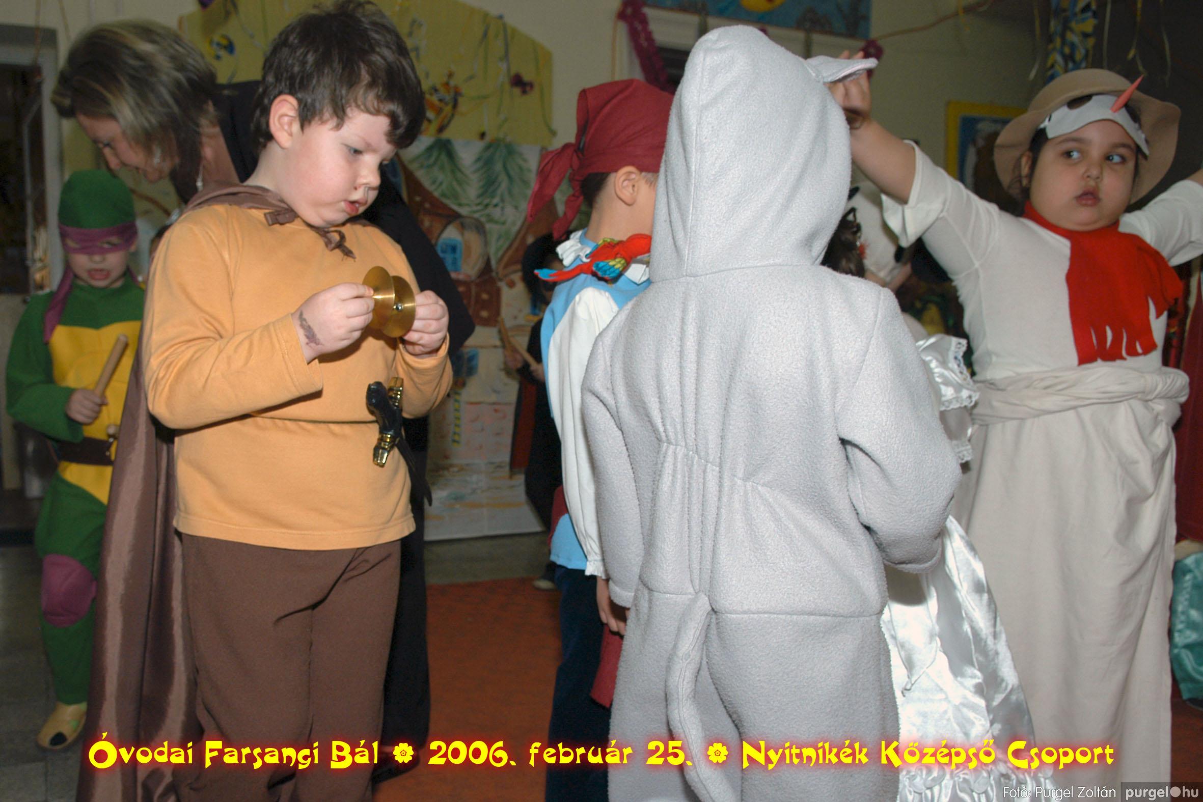 2006.02.25. 181 Kurca-parti Óvoda farsang 2006. - Nyitnikék csoport - Fotó:PURGEL ZOLTÁN©.jpg