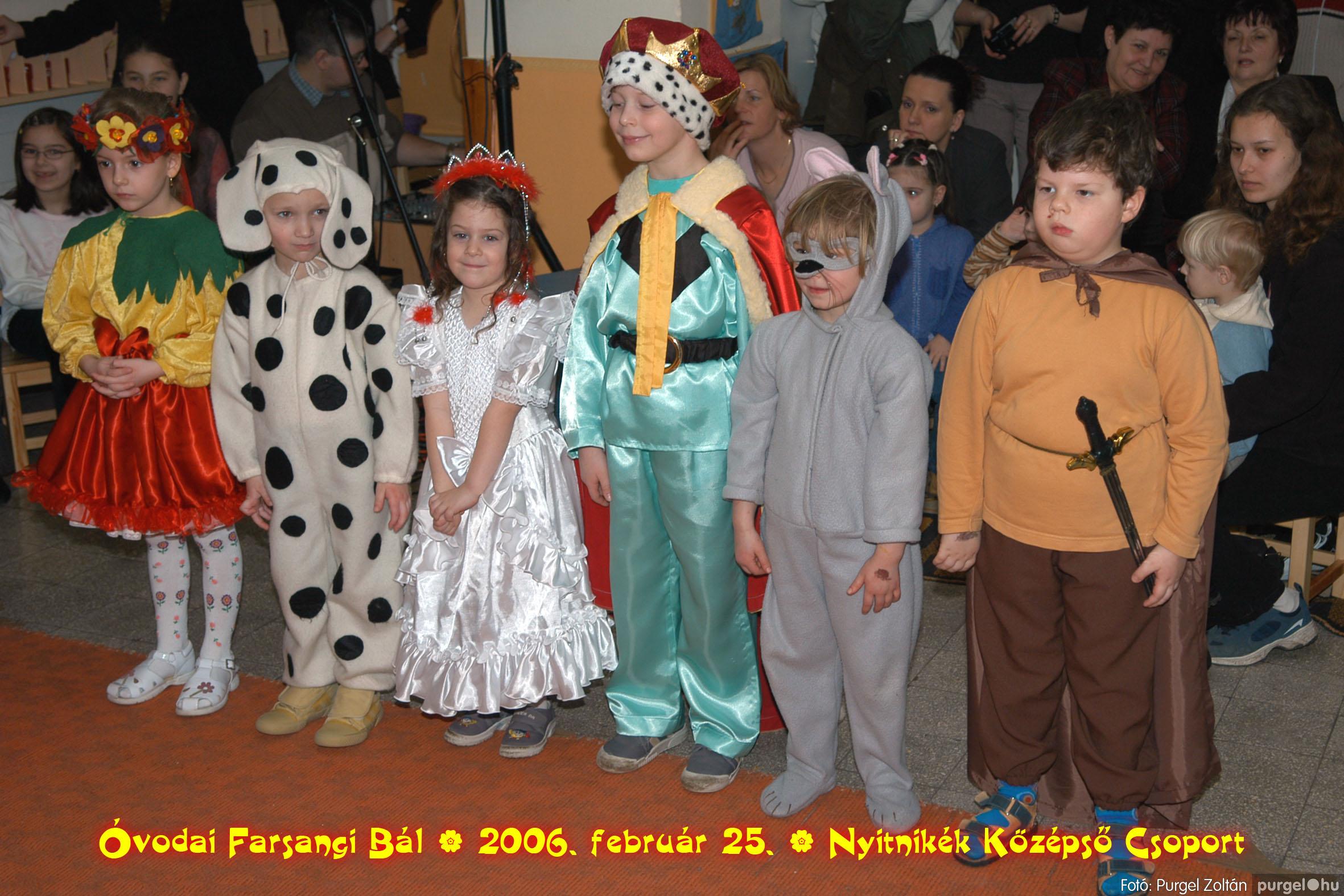 2006.02.25. 174 Kurca-parti Óvoda farsang 2006. - Nyitnikék csoport - Fotó:PURGEL ZOLTÁN©.jpg