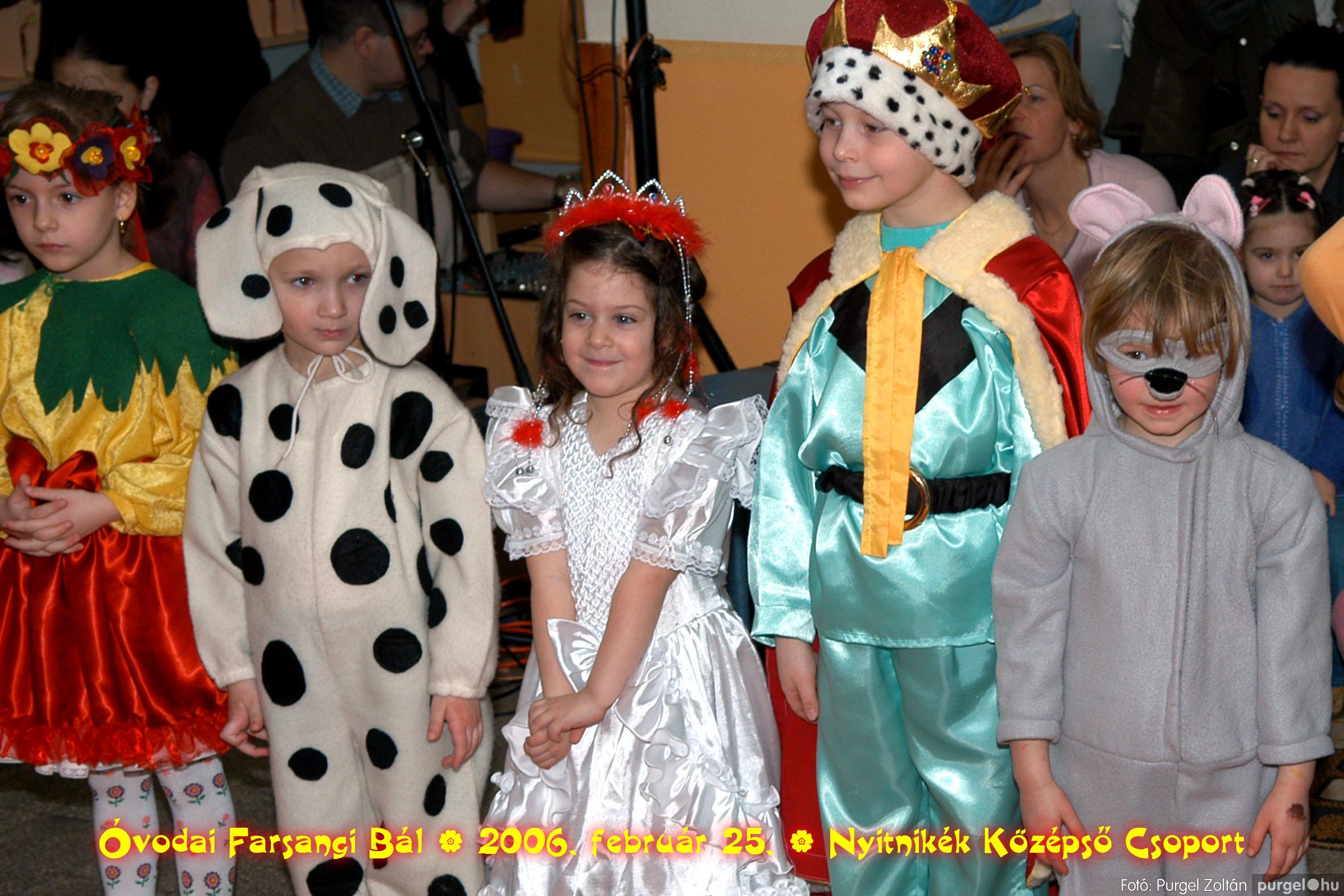 2006.02.25. 173 Kurca-parti Óvoda farsang 2006. - Nyitnikék csoport - Fotó:PURGEL ZOLTÁN©.jpg