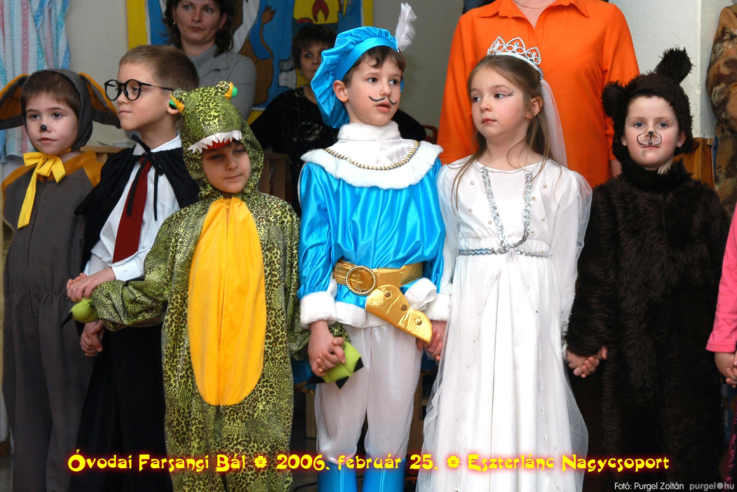 2006.02.25. 099 Kurca-parti Óvoda farsang 2006. - Eszterlánc csoport - Fotó:PURGEL ZOLTÁN©.jpg