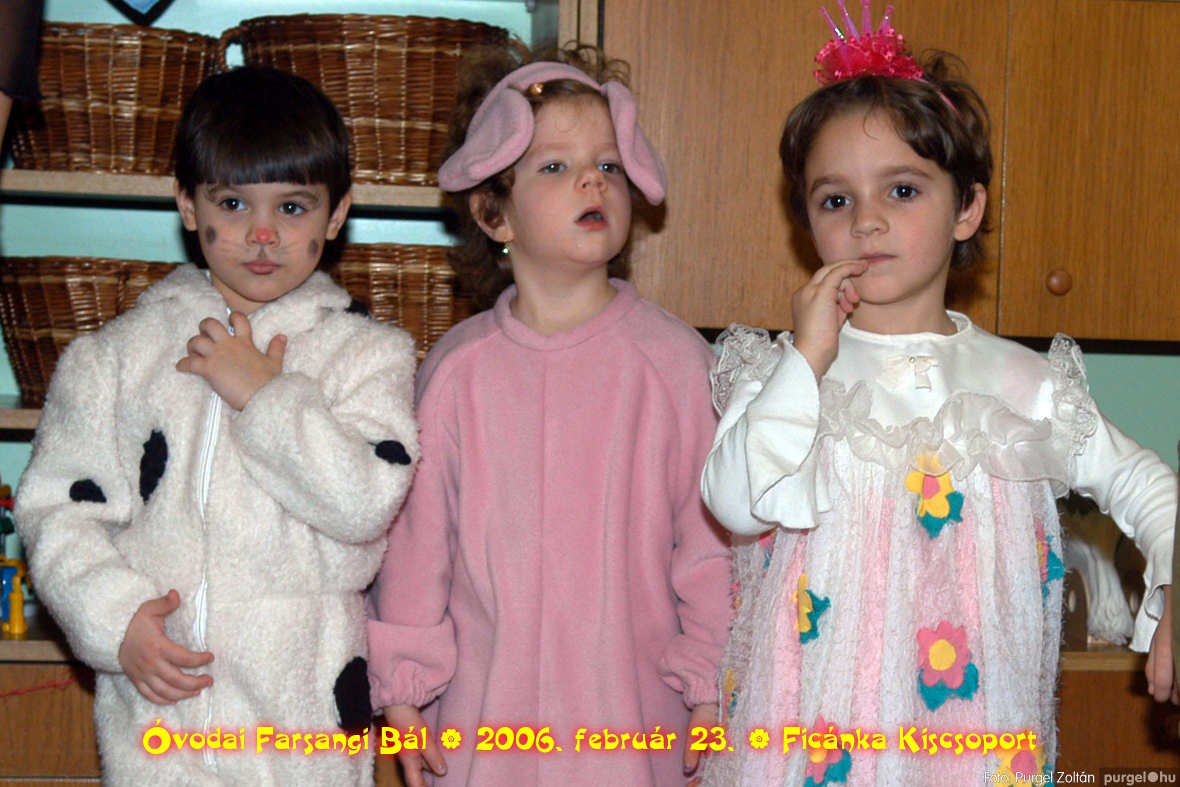 2006.02.23. 094 Kurca-parti Óvoda farsang 2006. - Ficánka csoport - Fotó:PURGEL ZOLTÁN© .jpg