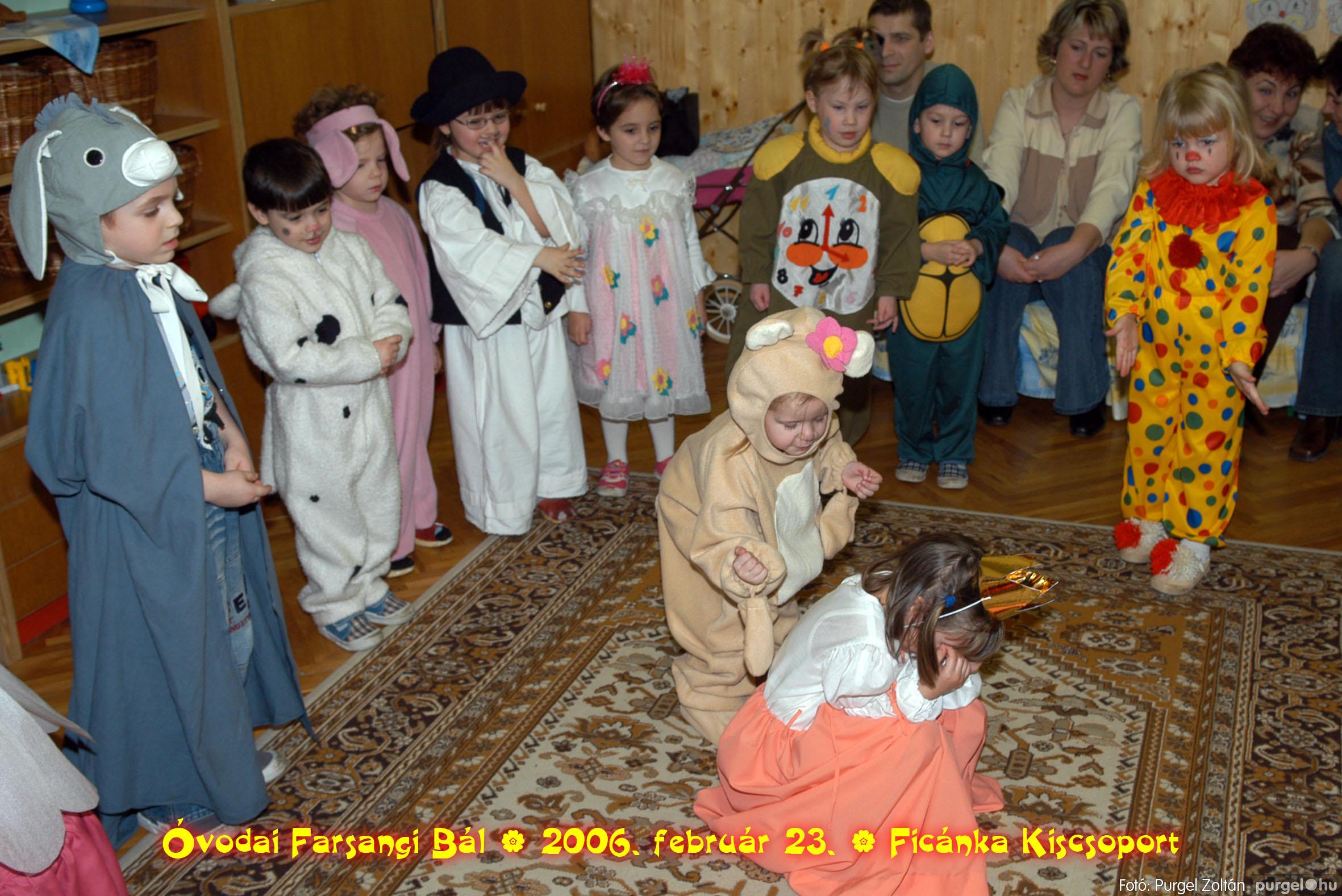 2006.02.23. 092 Kurca-parti Óvoda farsang 2006. - Ficánka csoport - Fotó:PURGEL ZOLTÁN© .jpg