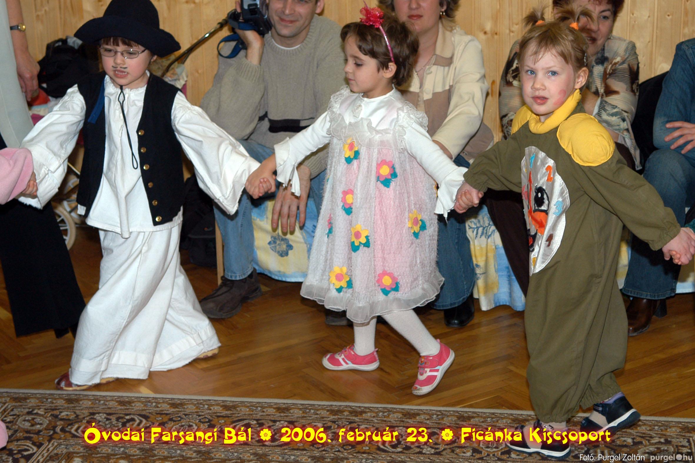 2006.02.23. 086 Kurca-parti Óvoda farsang 2006. - Ficánka csoport - Fotó:PURGEL ZOLTÁN© .jpg