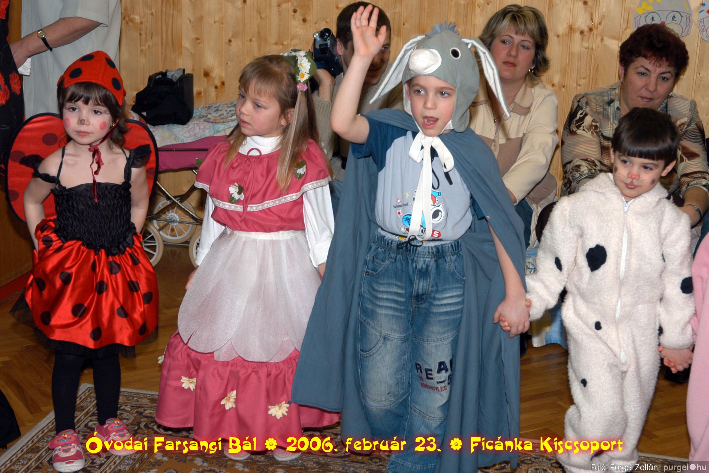 2006.02.23. 085 Kurca-parti Óvoda farsang 2006. - Ficánka csoport - Fotó:PURGEL ZOLTÁN© .jpg