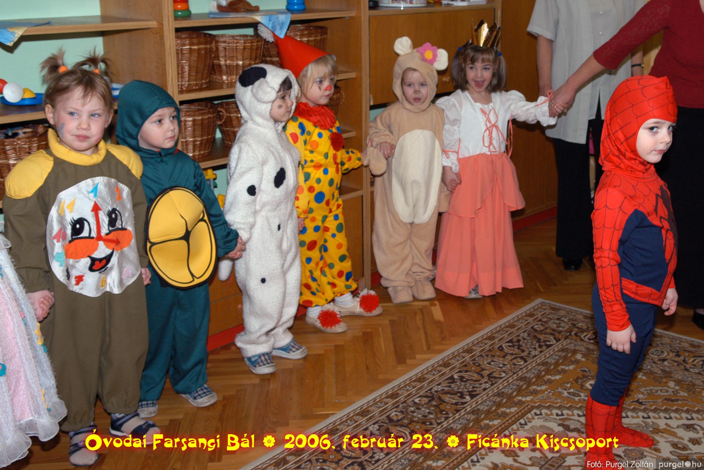 2006.02.23. 077 Kurca-parti Óvoda farsang 2006. - Ficánka csoport - Fotó:PURGEL ZOLTÁN© .jpg