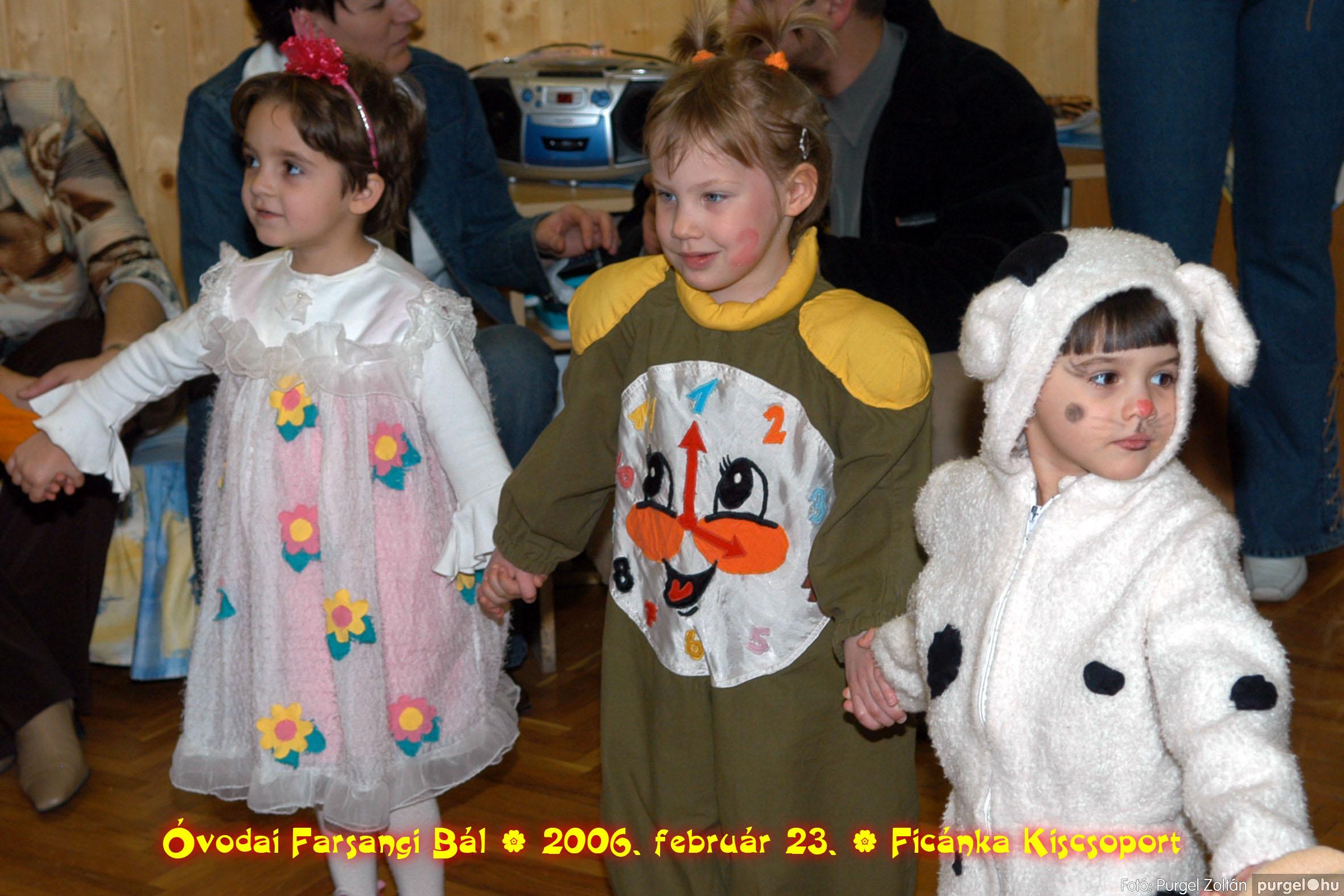2006.02.23. 075 Kurca-parti Óvoda farsang 2006. - Ficánka csoport - Fotó:PURGEL ZOLTÁN© .jpg