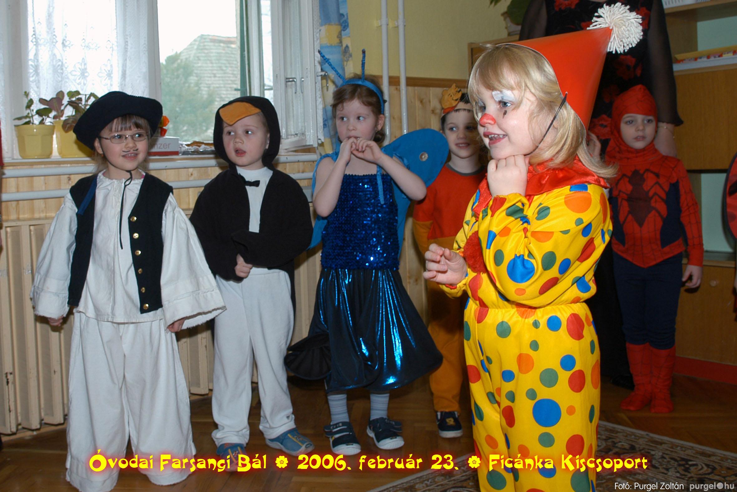 2006.02.23. 068 Kurca-parti Óvoda farsang 2006. - Ficánka csoport - Fotó:PURGEL ZOLTÁN© .jpg