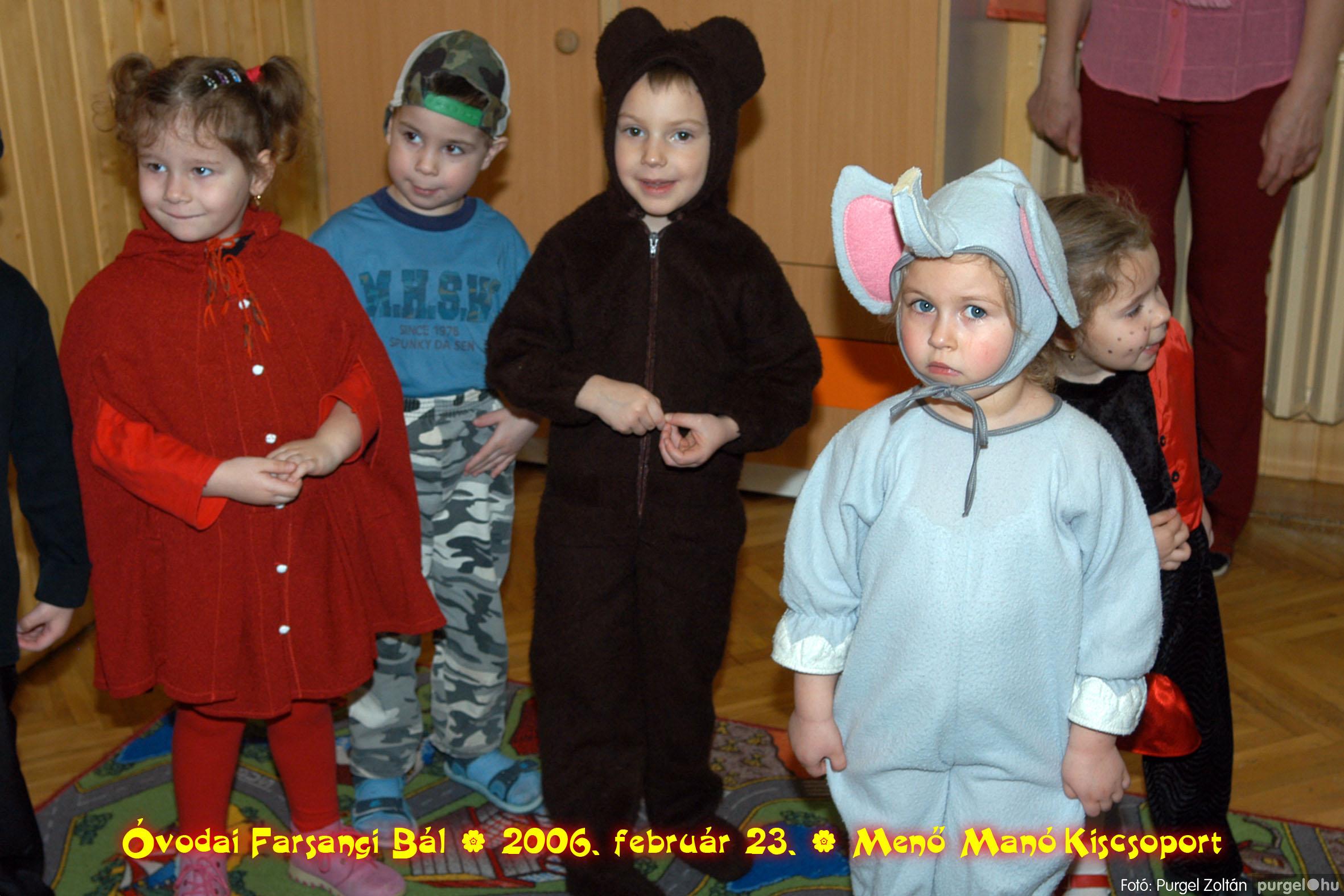 2006.02.23. 060 Kurca-parti Óvoda farsang 2006. - Menő-Manó csoport - Fotó:PURGEL ZOLTÁN©.jpg
