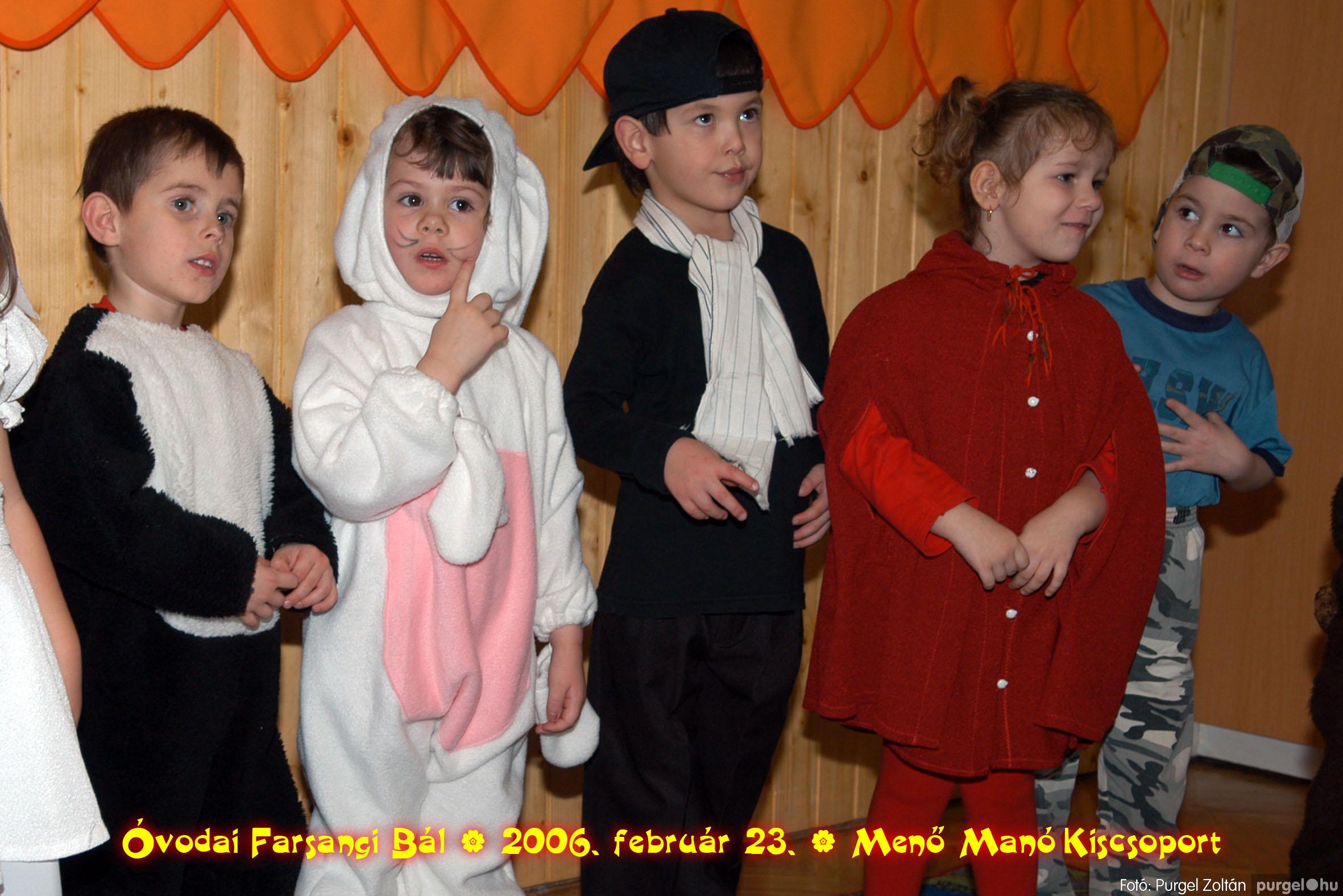 2006.02.23. 059 Kurca-parti Óvoda farsang 2006. - Menő-Manó csoport - Fotó:PURGEL ZOLTÁN©.jpg
