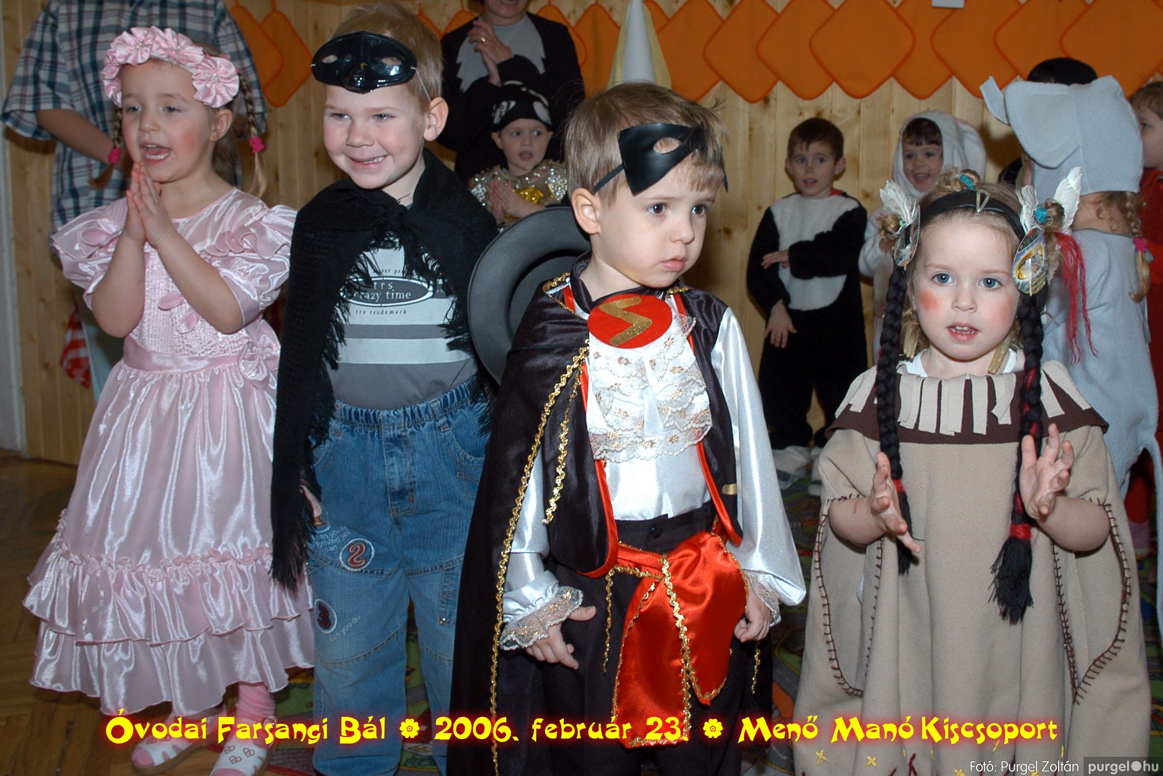 2006.02.23. 057 Kurca-parti Óvoda farsang 2006. - Menő-Manó csoport - Fotó:PURGEL ZOLTÁN©.jpg