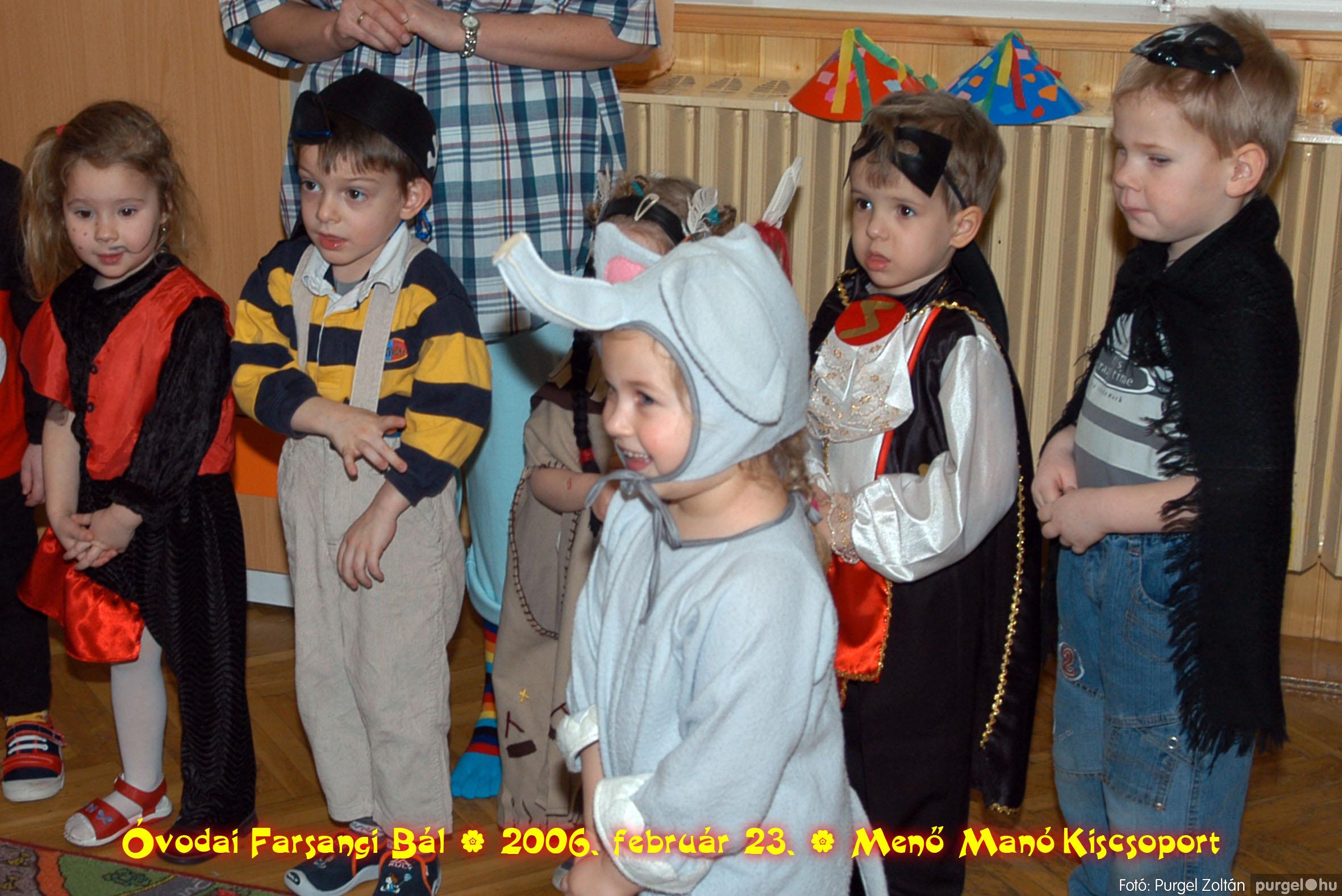 2006.02.23. 054 Kurca-parti Óvoda farsang 2006. - Menő-Manó csoport - Fotó:PURGEL ZOLTÁN©.jpg