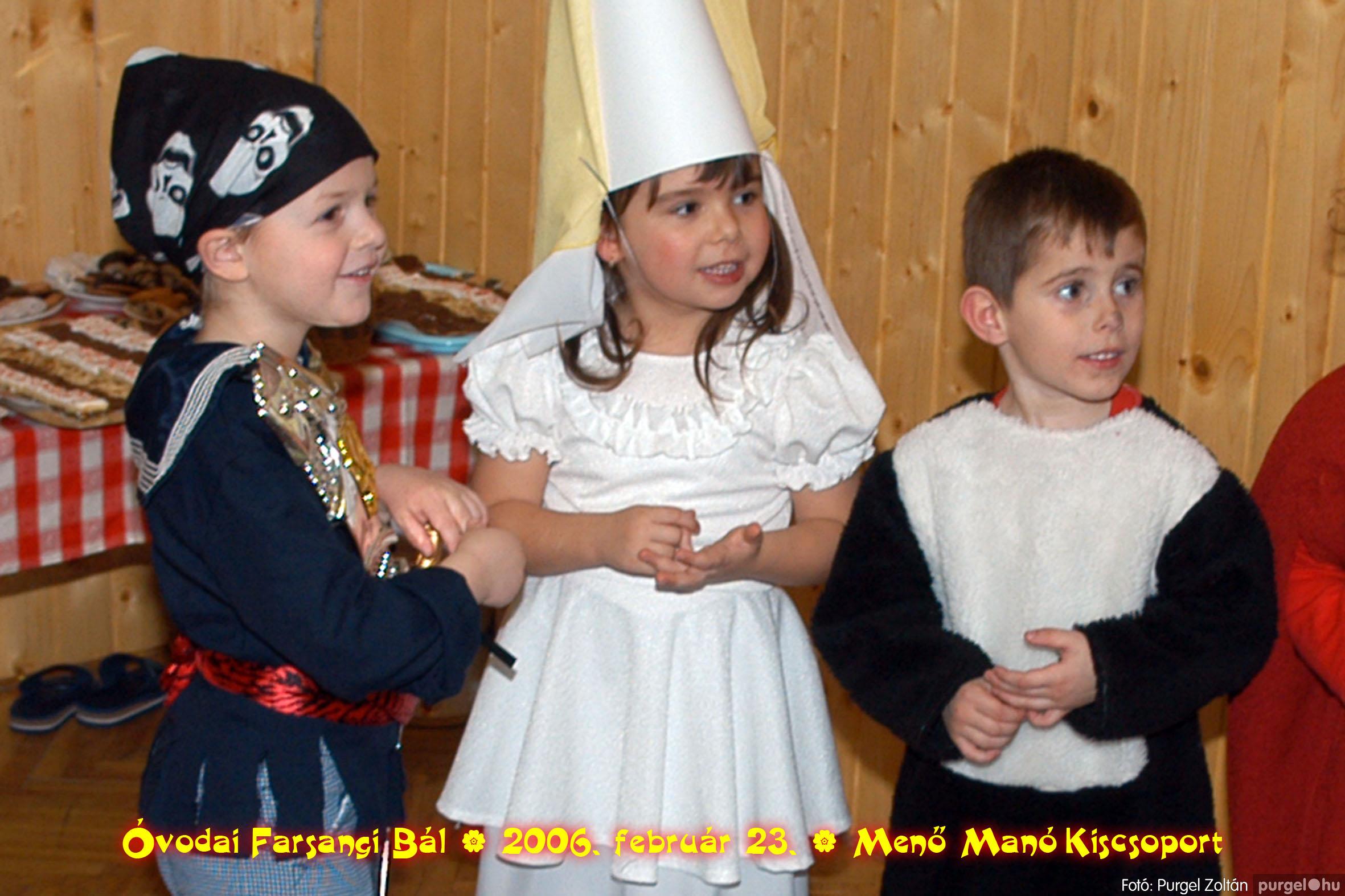 2006.02.23. 048 Kurca-parti Óvoda farsang 2006. - Menő-Manó csoport - Fotó:PURGEL ZOLTÁN©.jpg