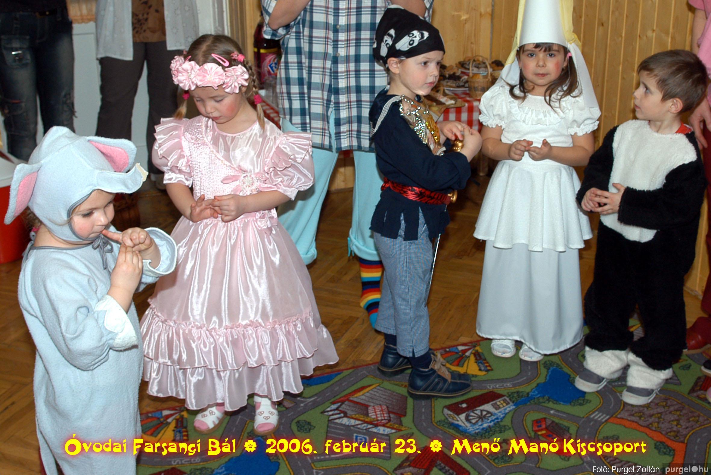 2006.02.23. 047 Kurca-parti Óvoda farsang 2006. - Menő-Manó csoport - Fotó:PURGEL ZOLTÁN©.jpg