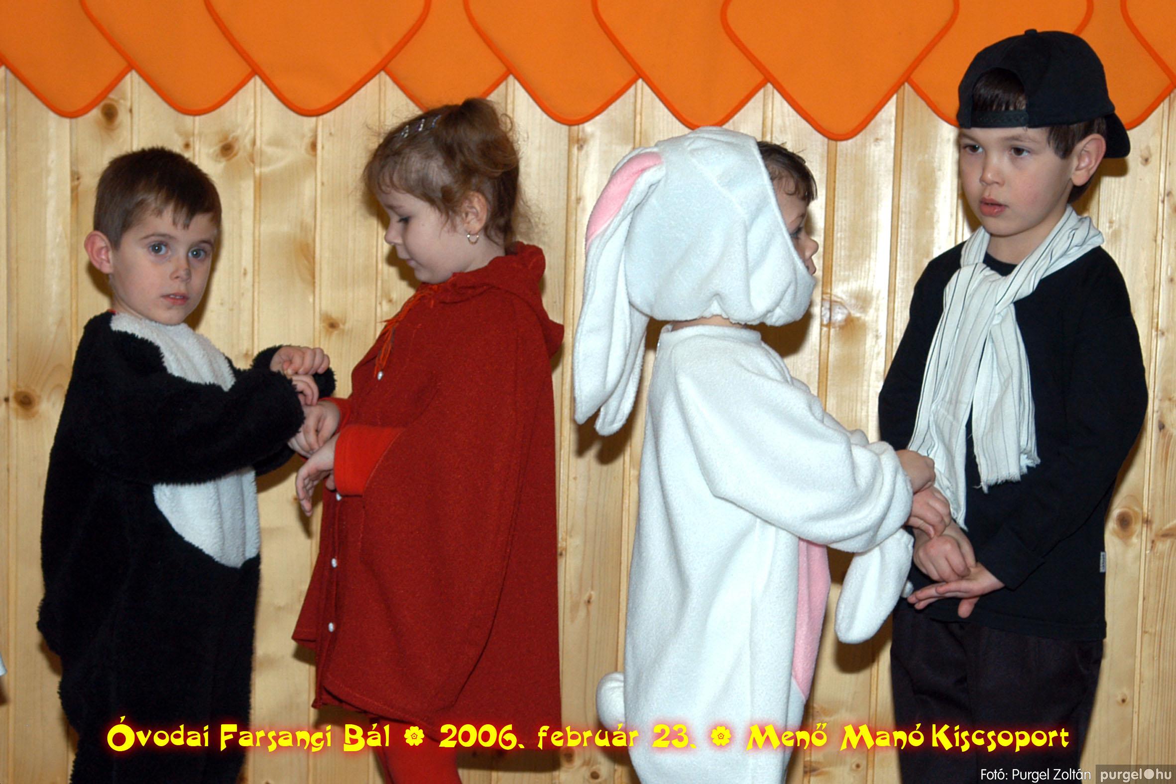 2006.02.23. 046 Kurca-parti Óvoda farsang 2006. - Menő-Manó csoport - Fotó:PURGEL ZOLTÁN©.jpg
