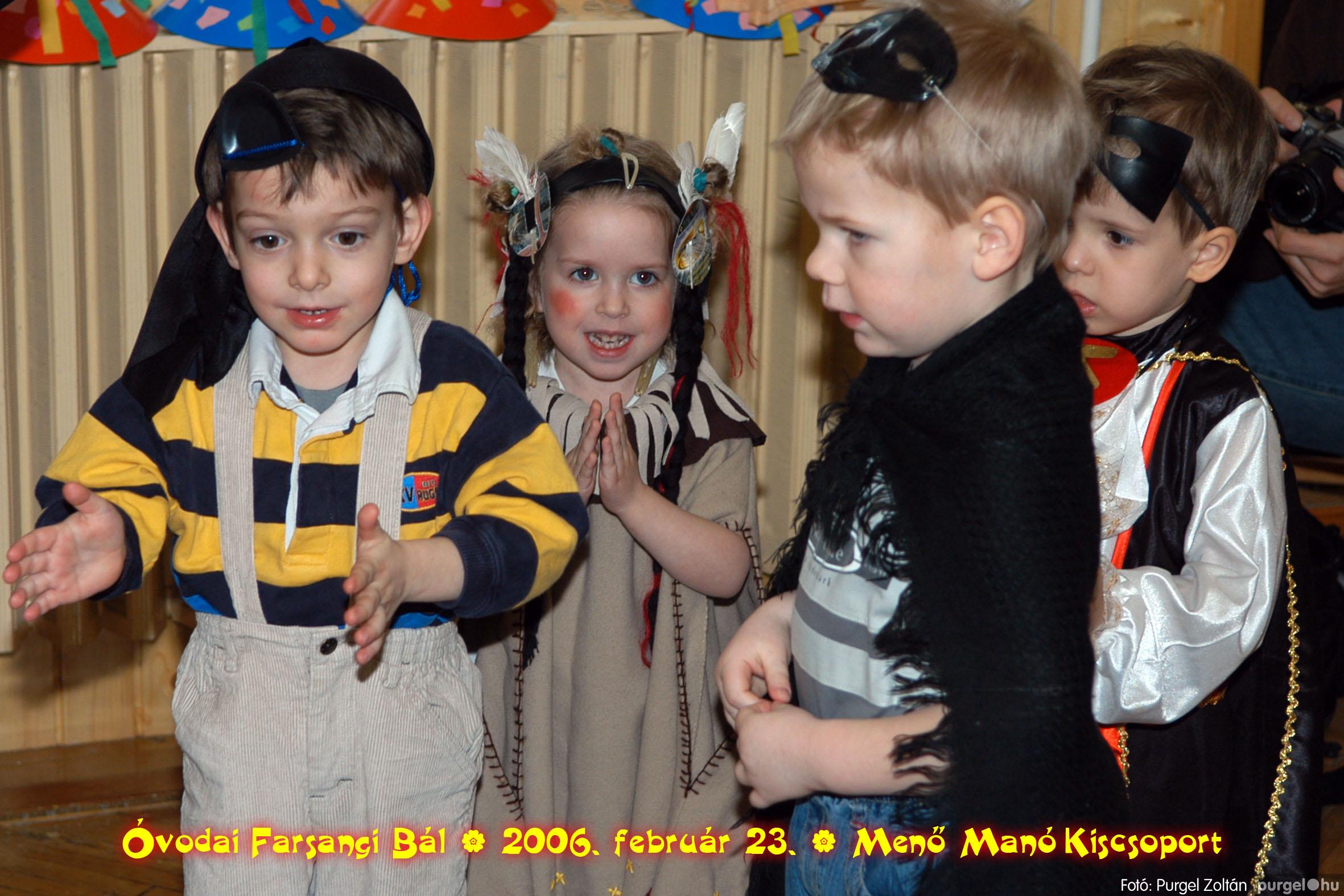 2006.02.23. 043 Kurca-parti Óvoda farsang 2006. - Menő-Manó csoport - Fotó:PURGEL ZOLTÁN©.jpg